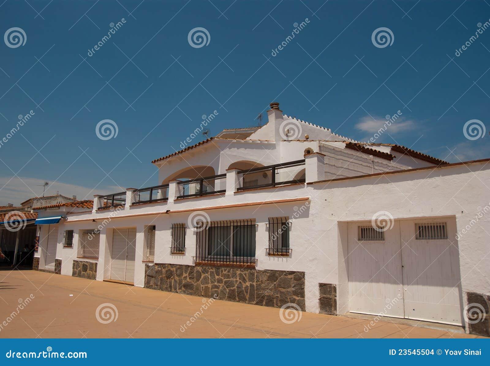śródziemnomorskie architektur róże Spain