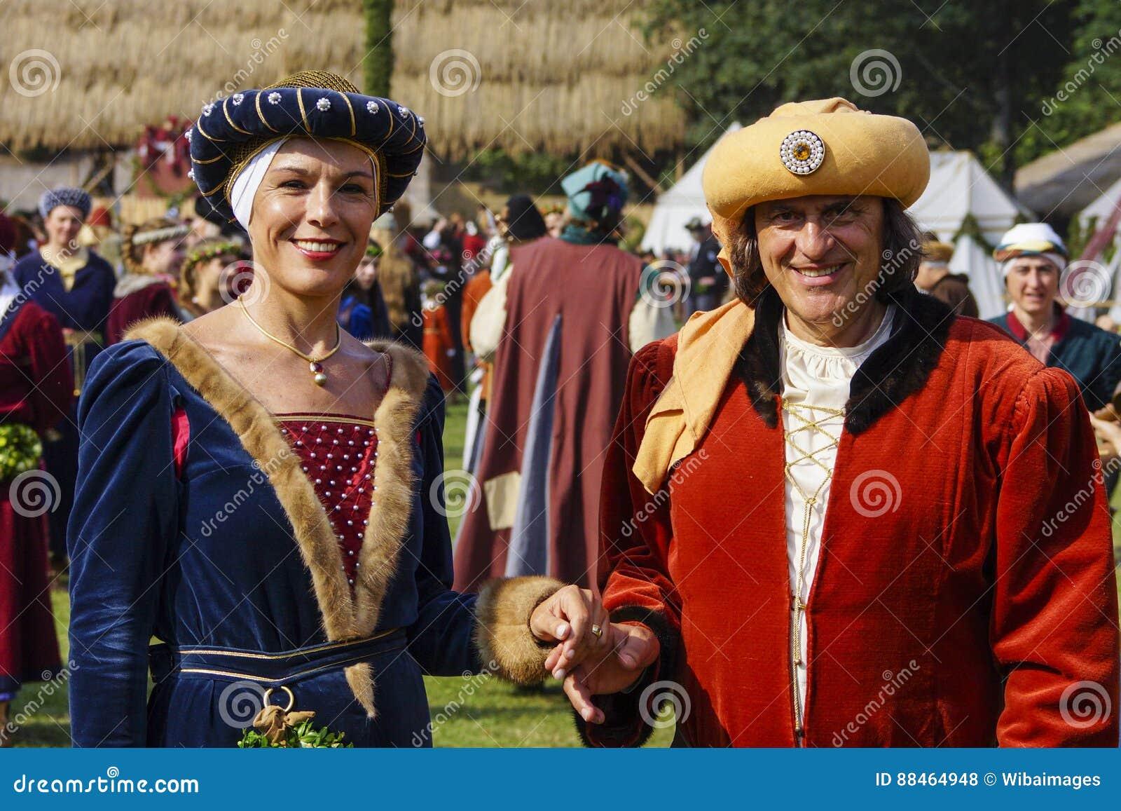 średniowieczne Gry Landshut ślub Zdjęcie Stock Editorial Obraz