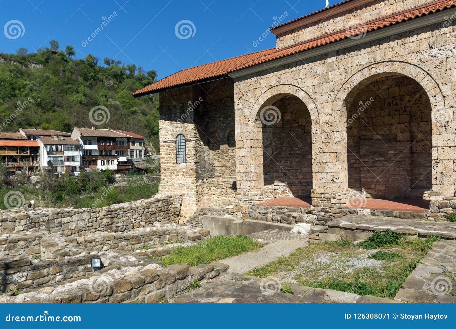 Średniowieczny Święty Czterdzieści męczenników kościół - Wschodni Ortodoksalny kościół budujący w 1230 w miasteczku Veliko Tarnov