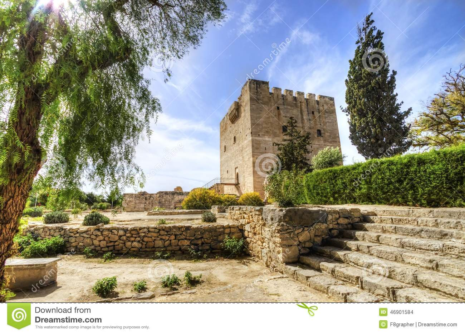 Średniowieczny kasztel Kolossi, Limassol, Cypr