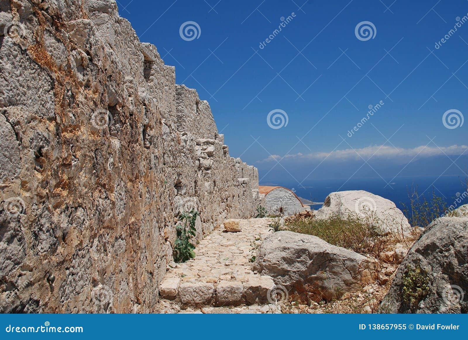Średniowieczny krzyżowa kasztel, Halka