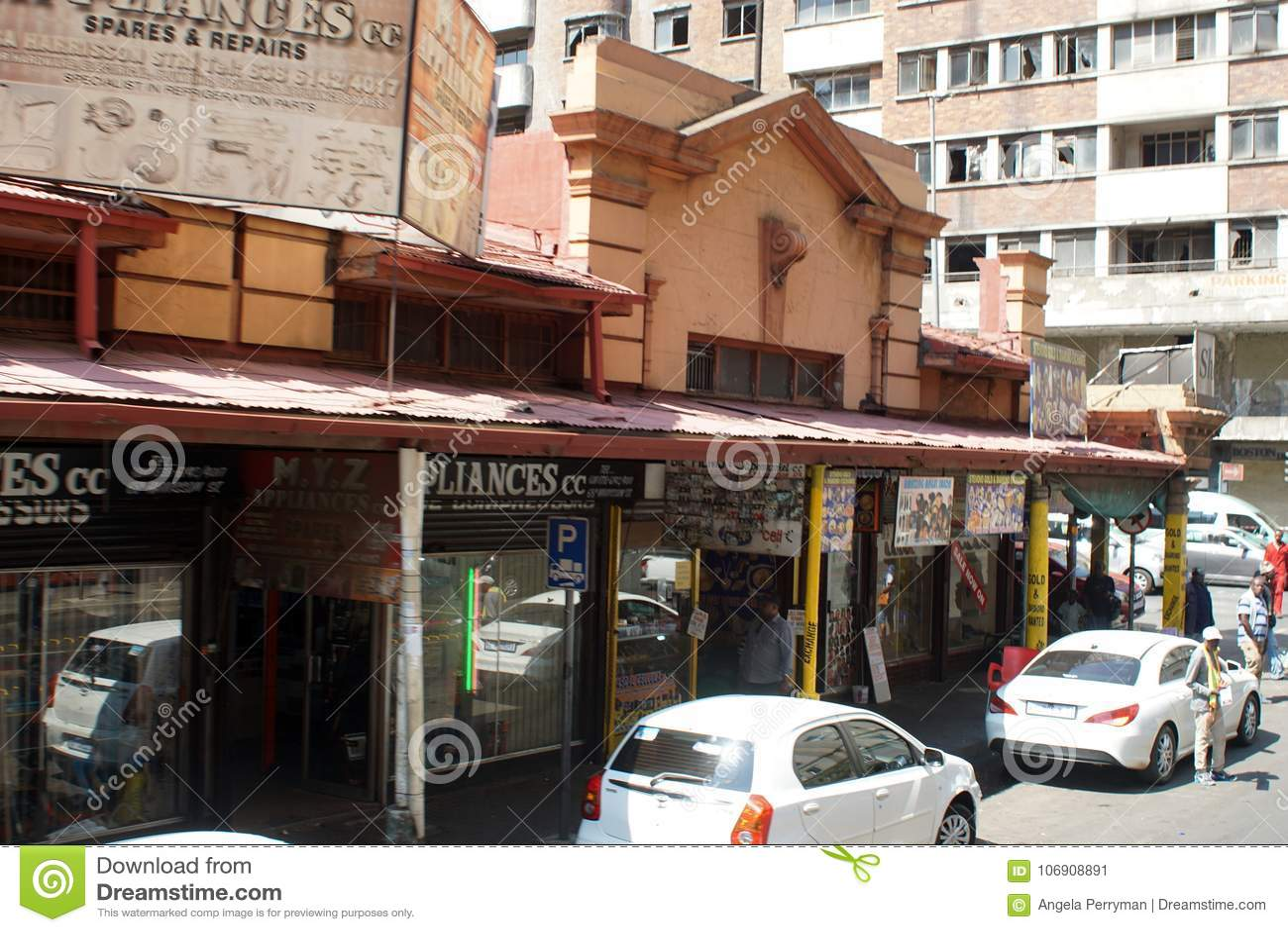 Środkowa dzielnica biznesu, Johannesburg, Południowa Afryka