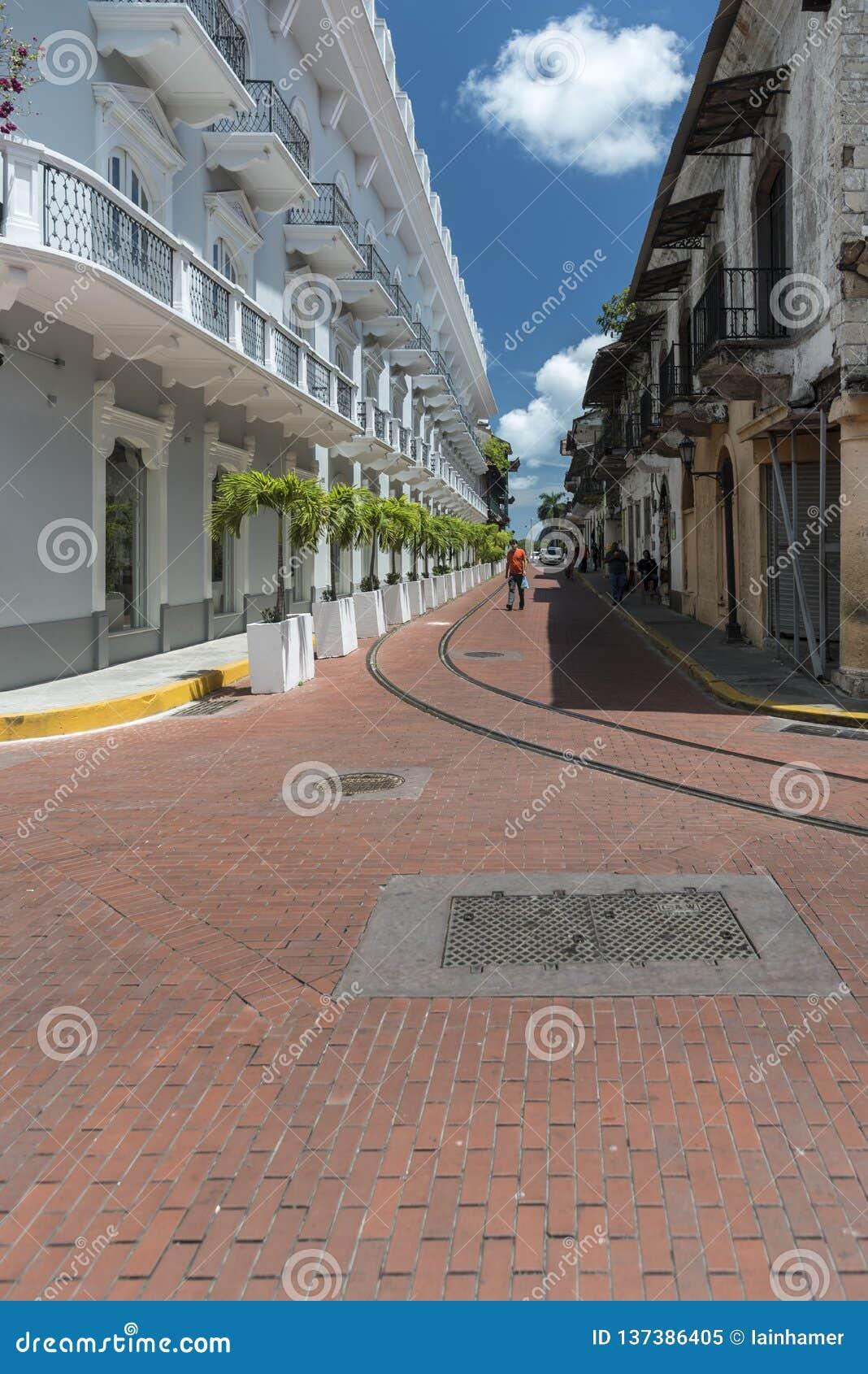 Środkowego Hotelowego Panamà ¡ Stary Grodzki Panamski miasto
