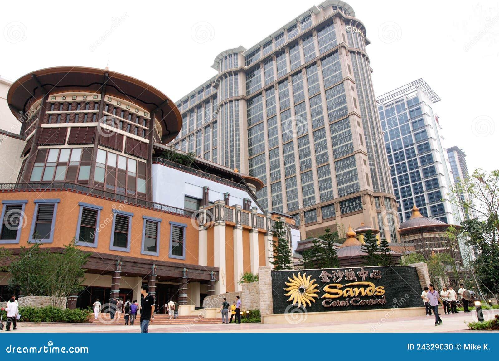 środkowi contai Macau piaski