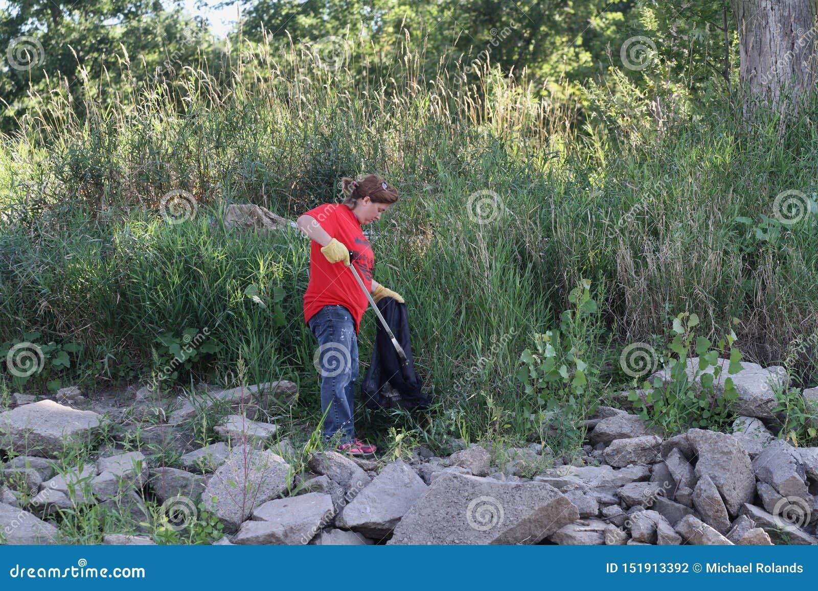 Środowiskowy porządkowanie wzdłuż rzeki