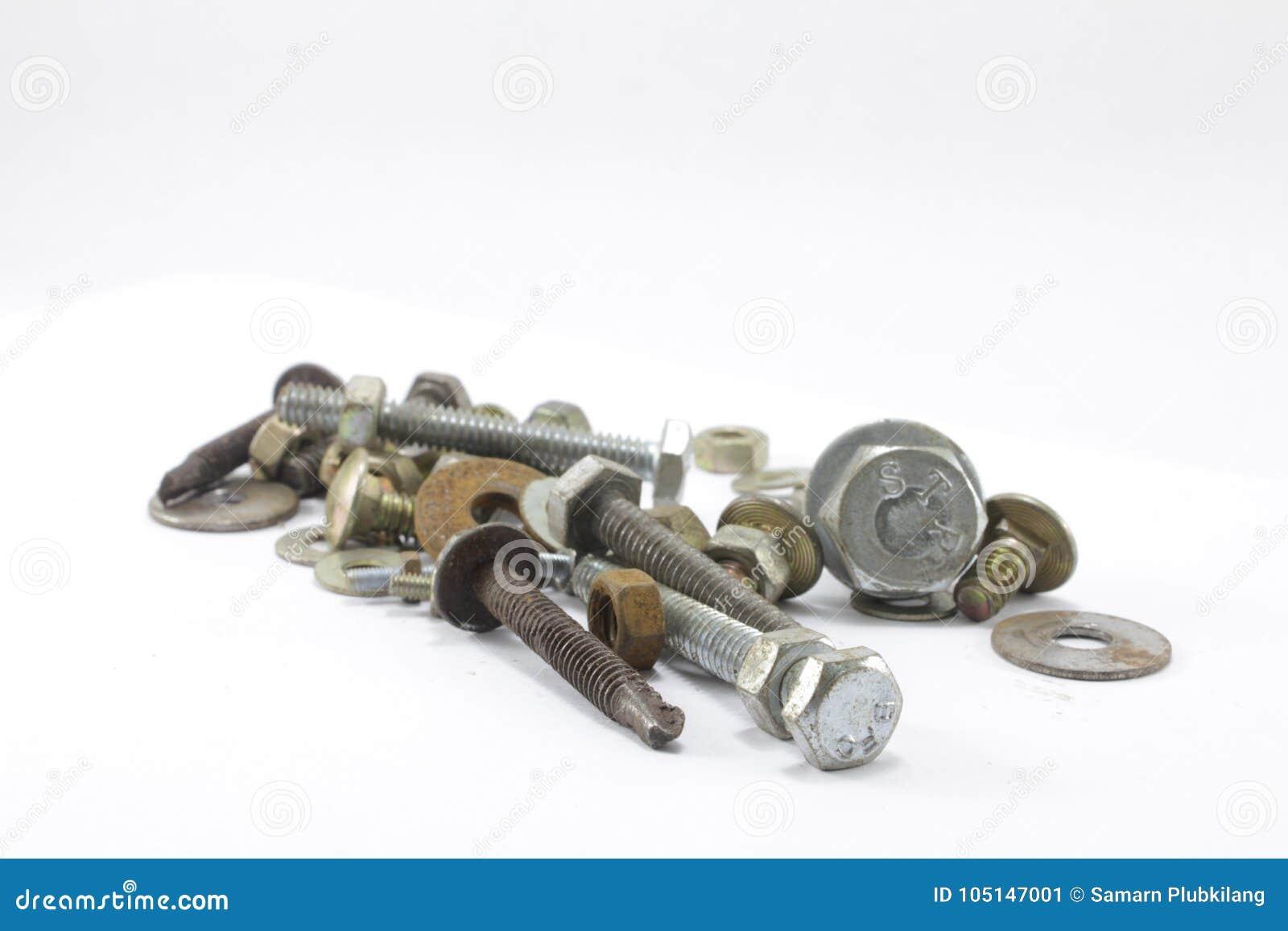 Śruby, dokrętki, rygle i gwoździe,