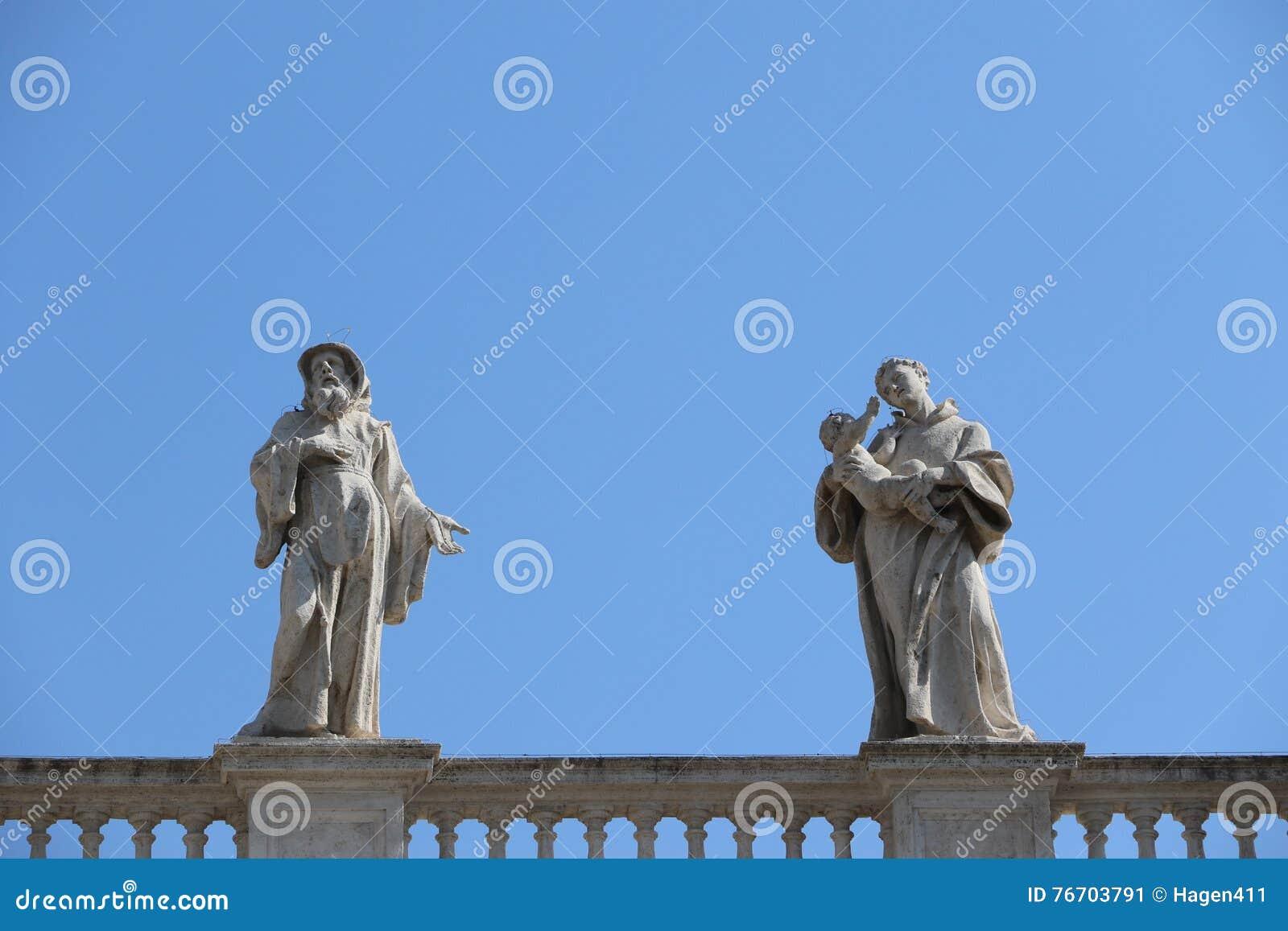 Świątobliwy Peter w Watykan