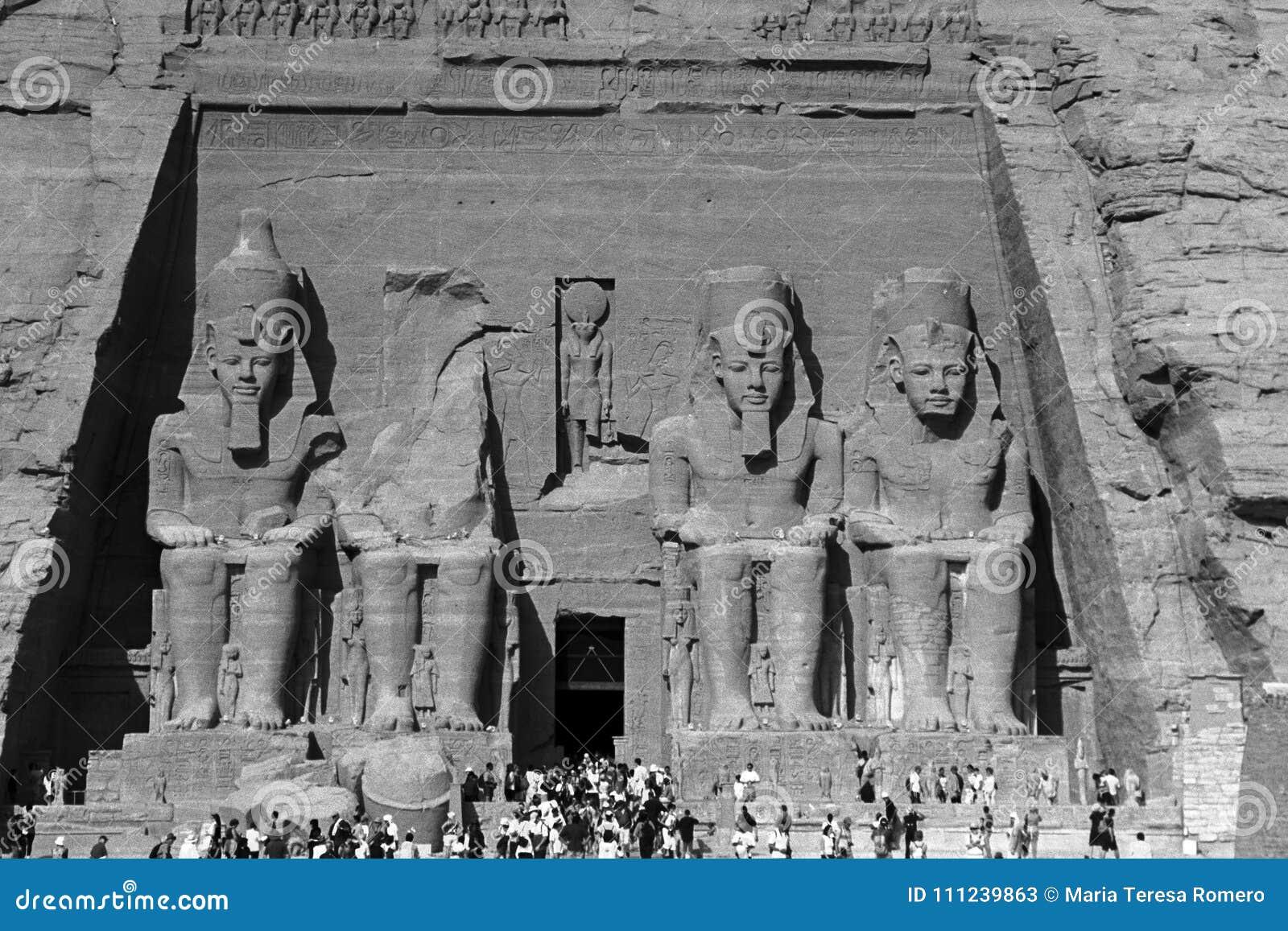 Świątynia Abu Simbel Ramses II, Egipt, Październik, 2002