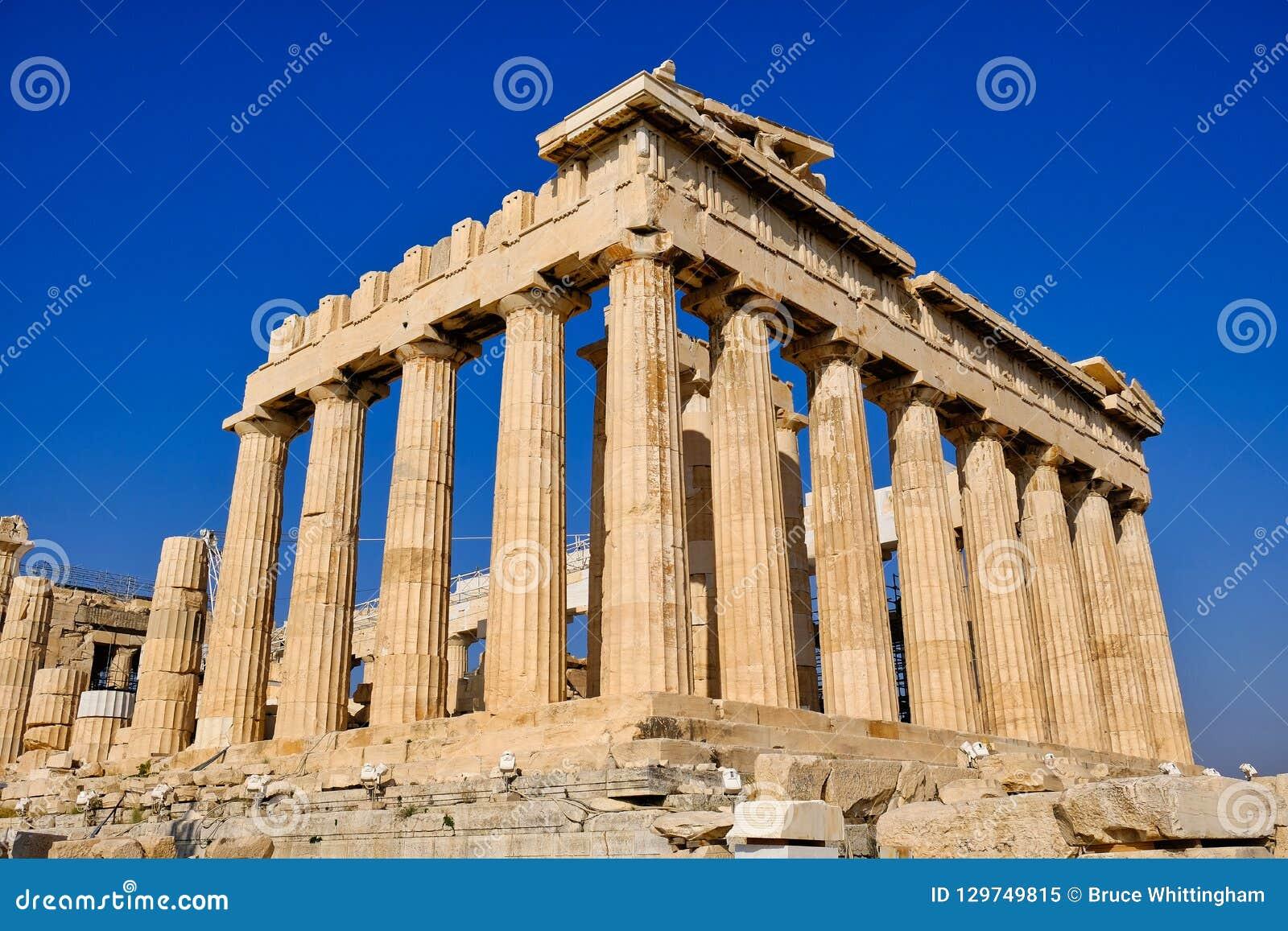 Świątynia Athena Parthenon, Ateny, Grecja