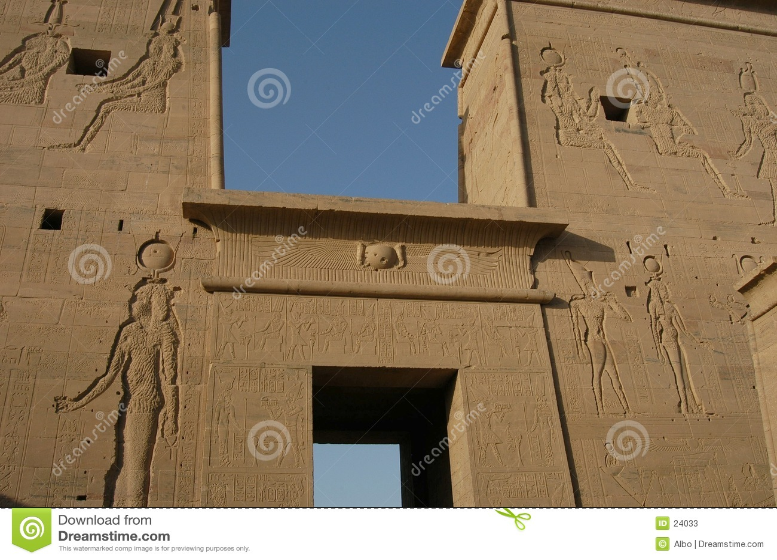 świątynia egipska