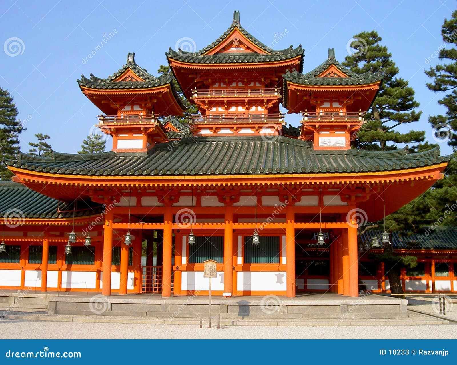 świątynia heian