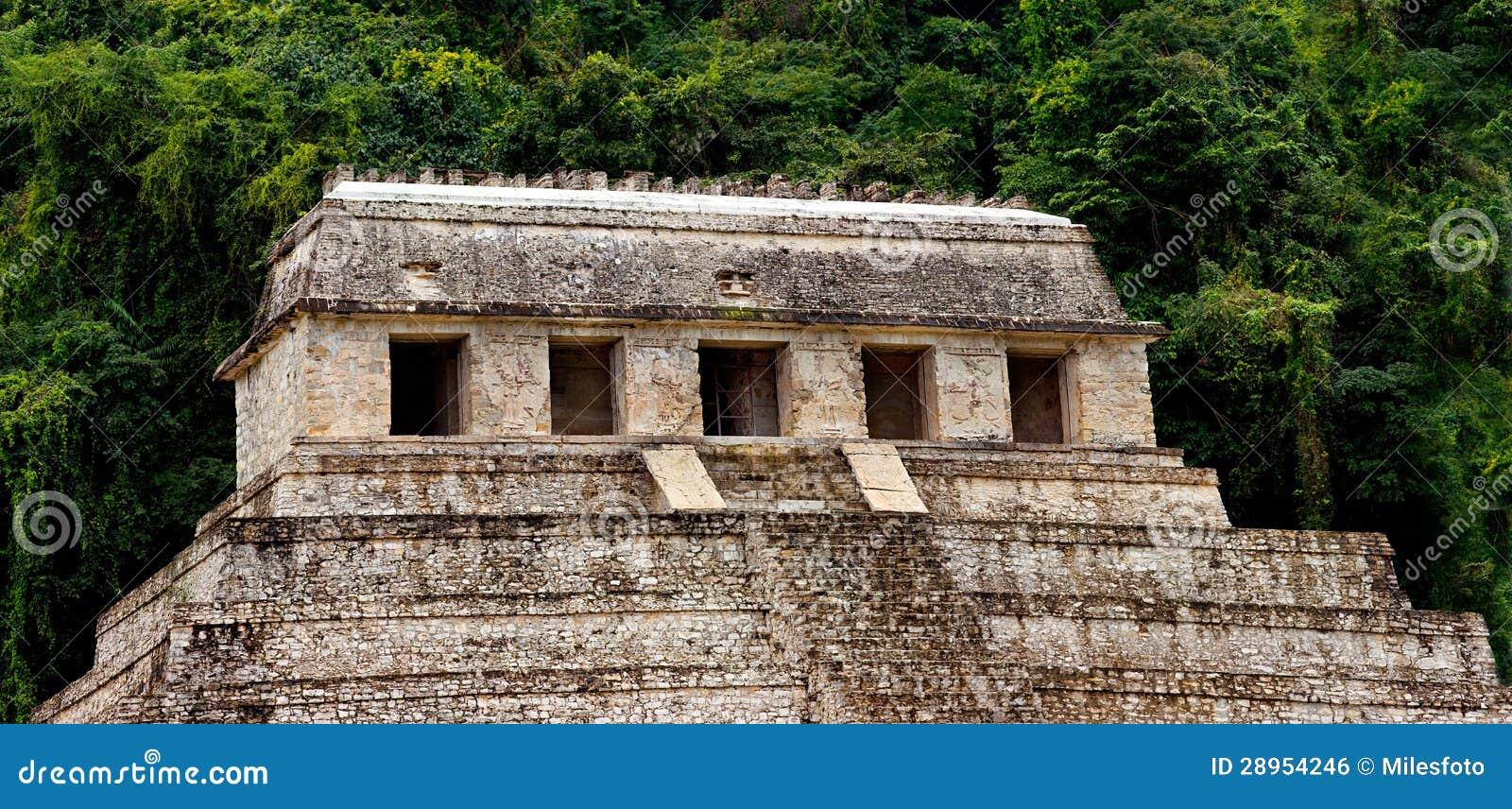 Świątynia inskrypcje Palenque