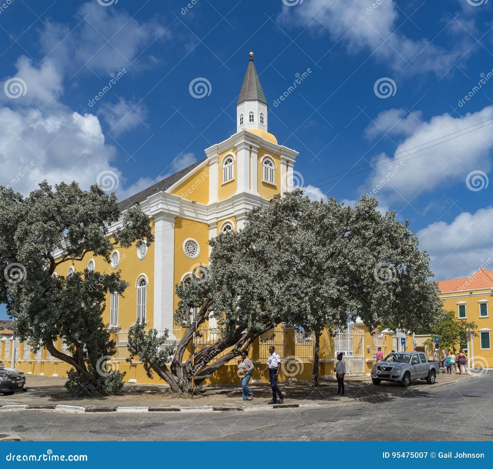 Świątynia - Punda Curacao widoki