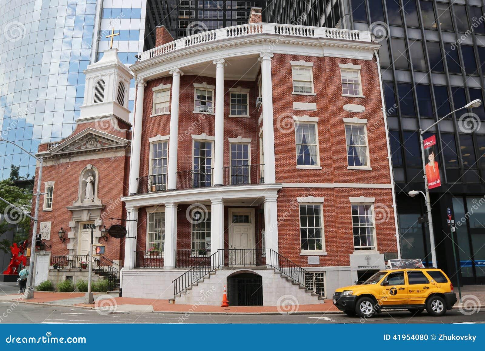 Świątynia St Elizabeth Ann Seton przy Nasz damą Różańcowa parafia w Manhattan