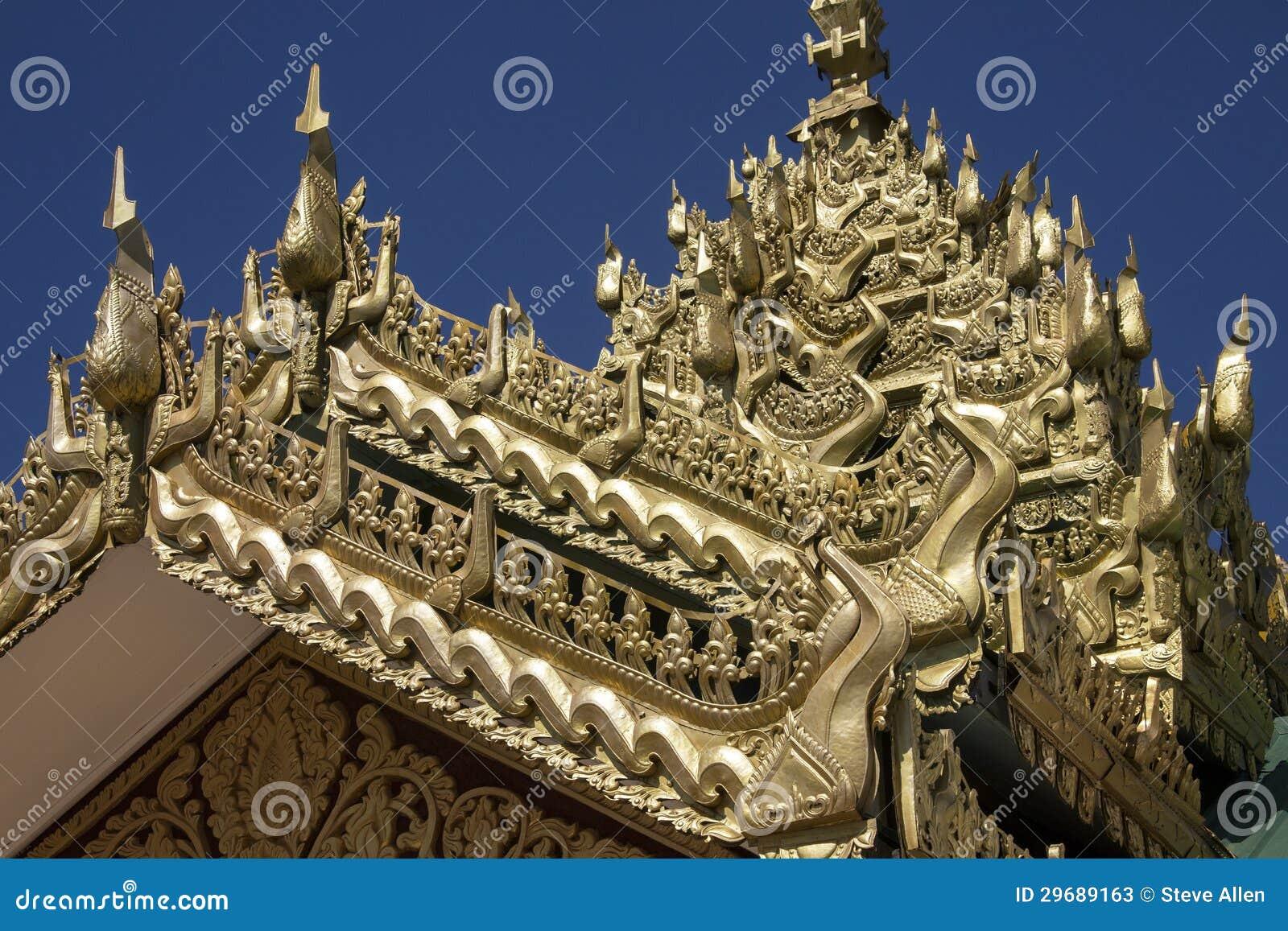 Świątynna architektura - Myanmar