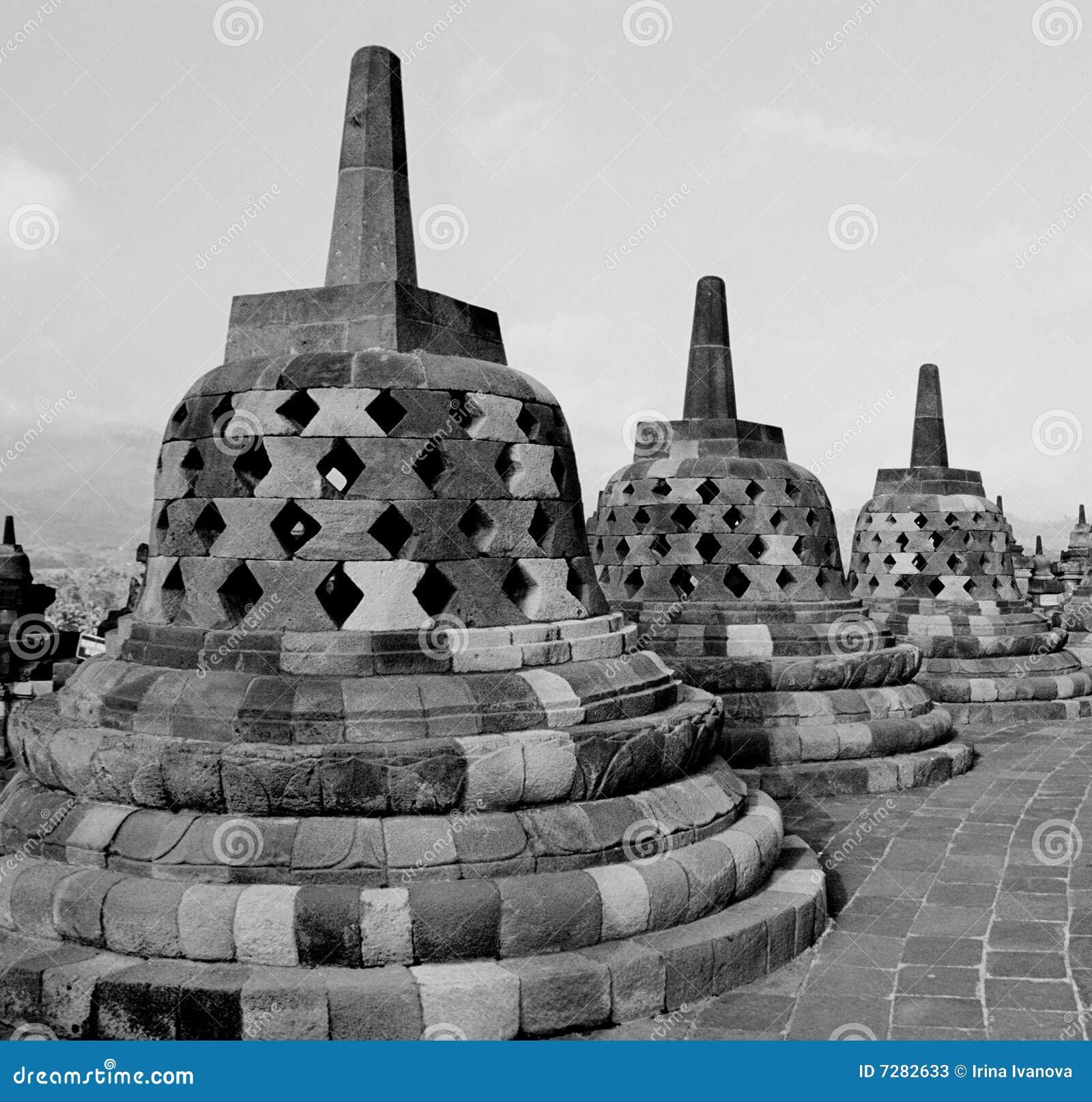 świątynni borobudur stupas