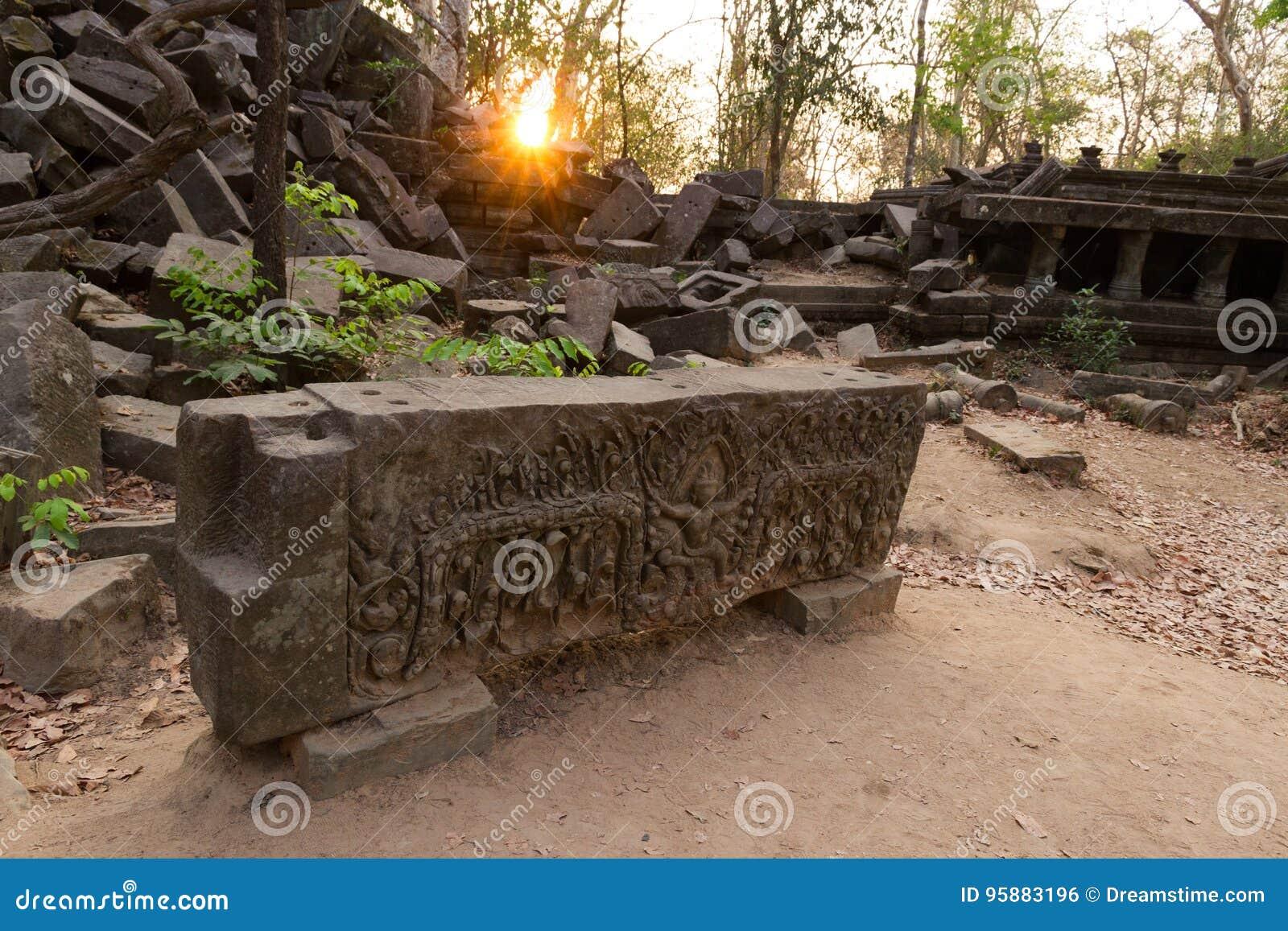 Świątynny Beng Mealea, Angkor Wat, Kambodża