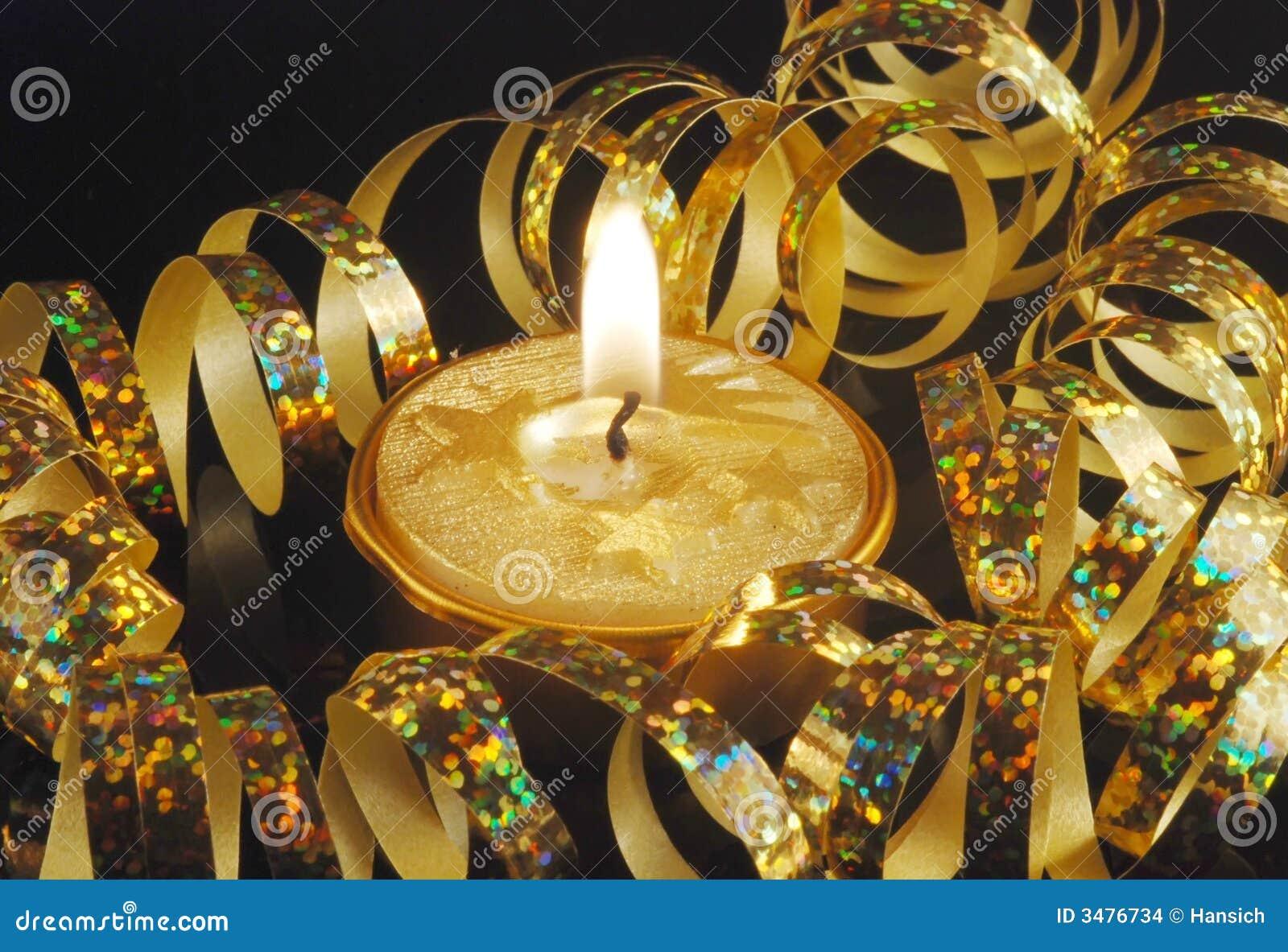 Święta świec, złote