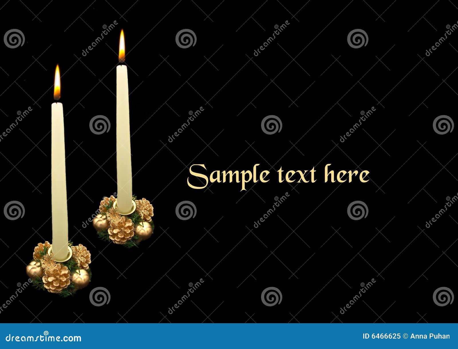 Święta dwie świeczki