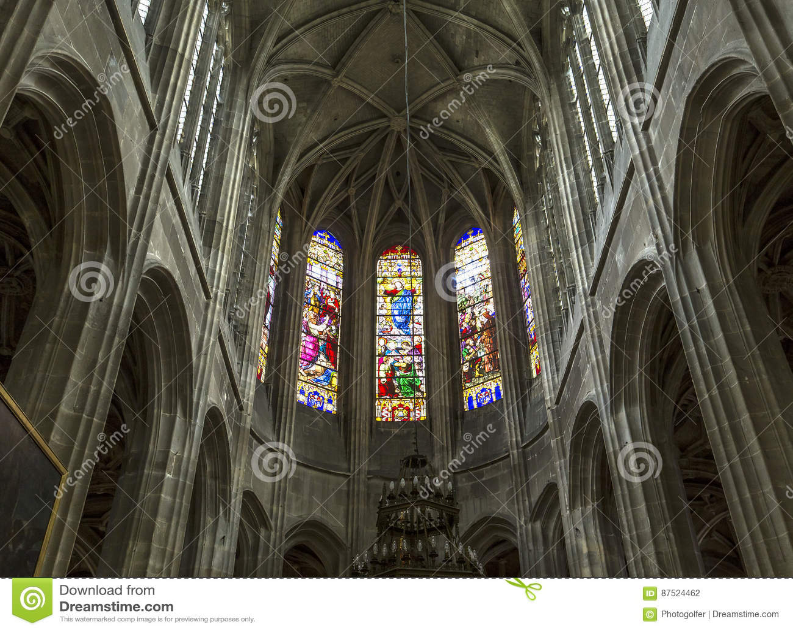 Świętego Antoine kościół, Compiegne, Oise, Francja