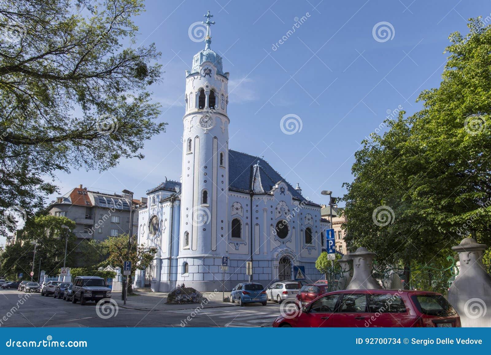 Świętego Elisabeth kościół w Bratislava