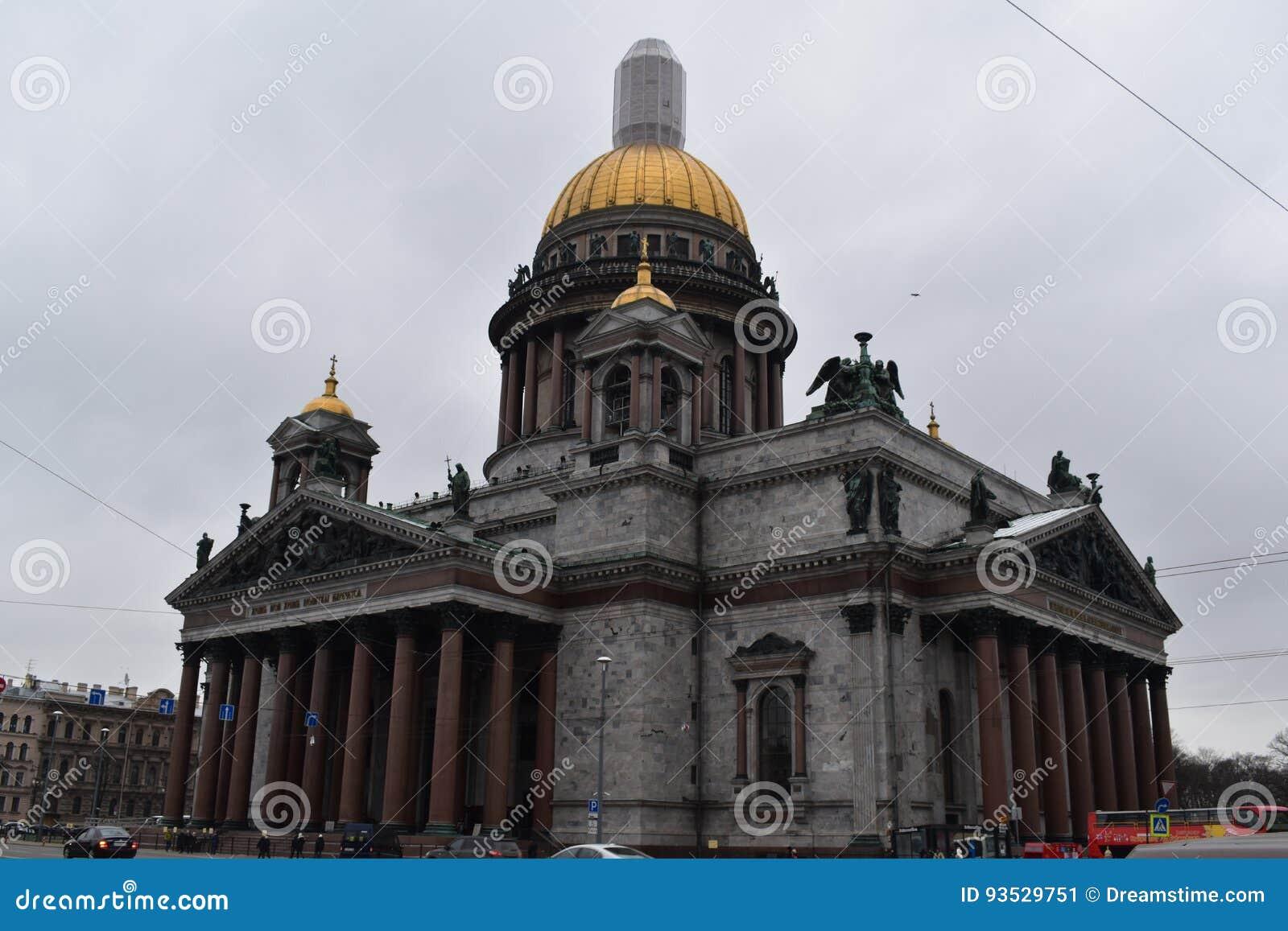 Świętego Petersburg St Isaac ` s katedra
