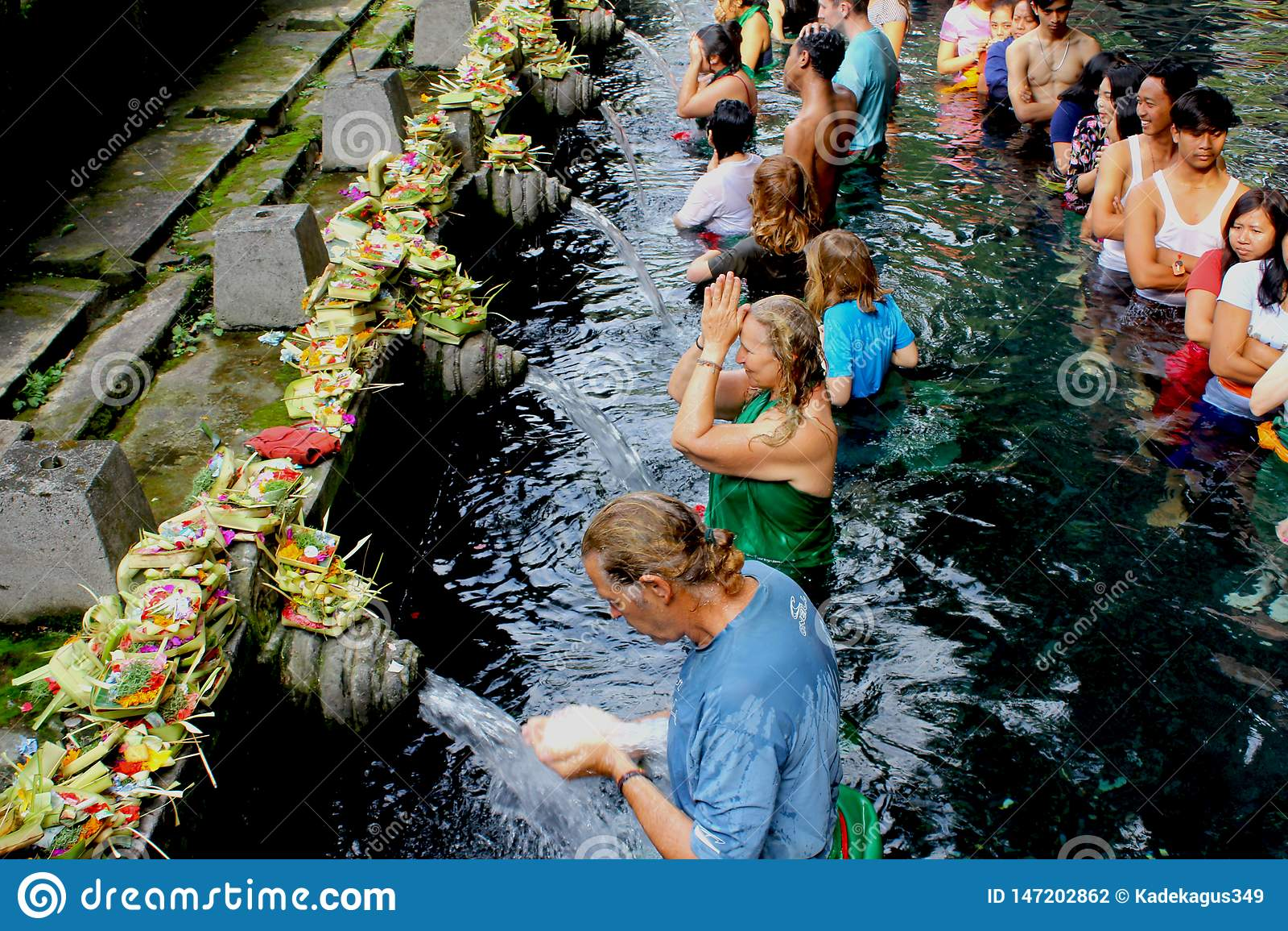 Świętej wody świątynia w Bali