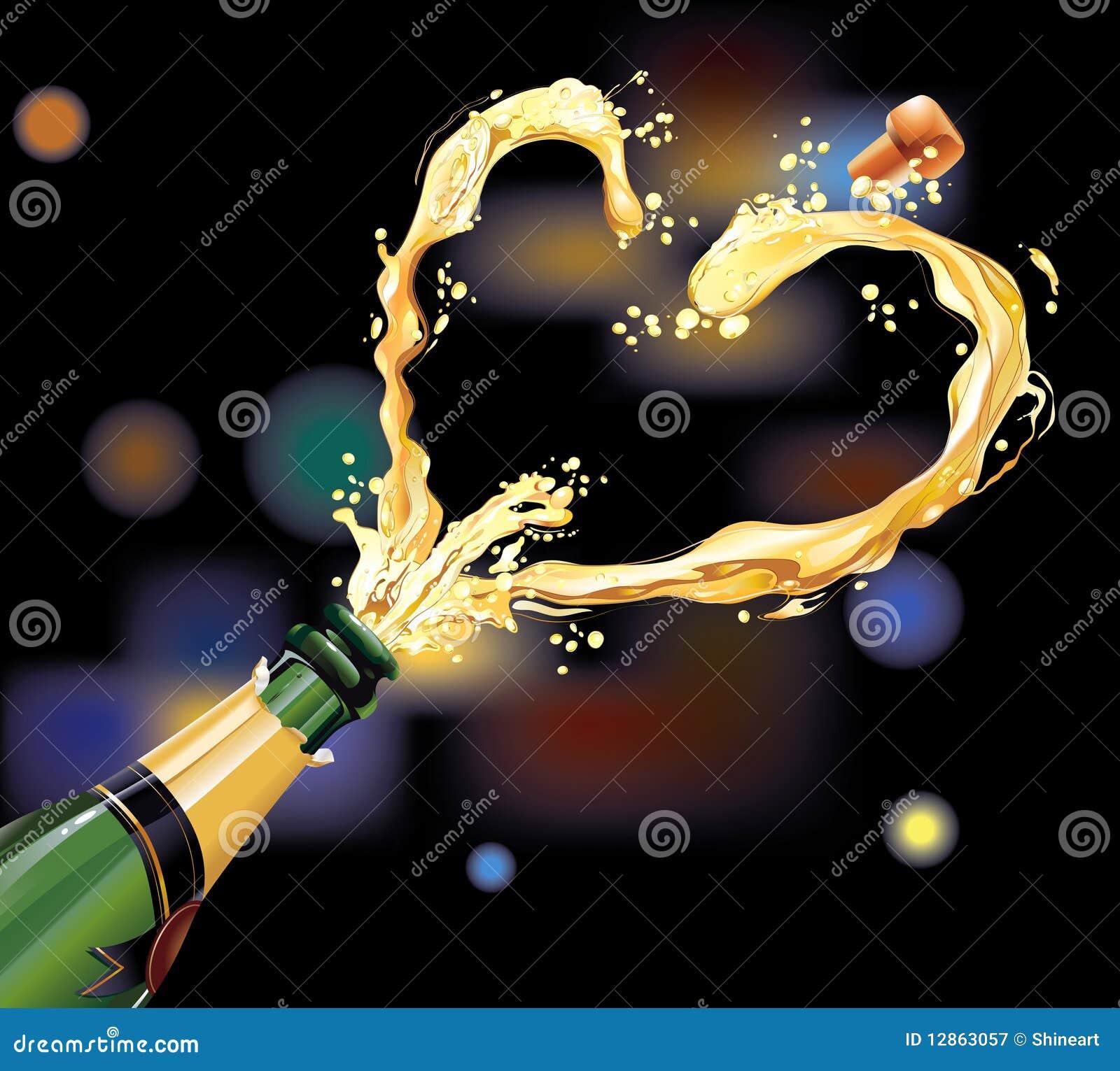 świętowanie szampan