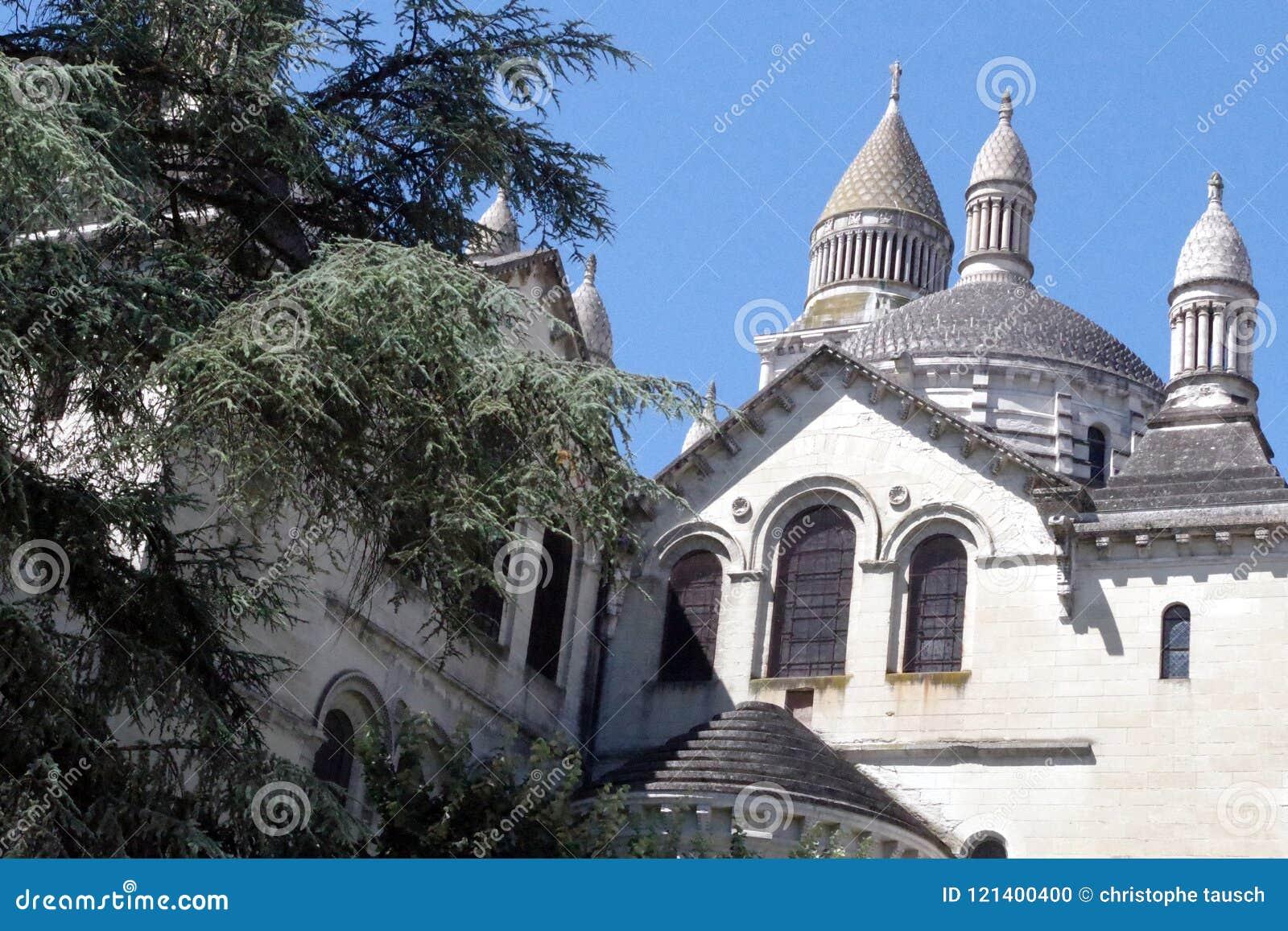 Święty Frontowa katedra, pielgrzymka sposób Santiago De Compostela, UNESCO światowego dziedzictwa miejsce
