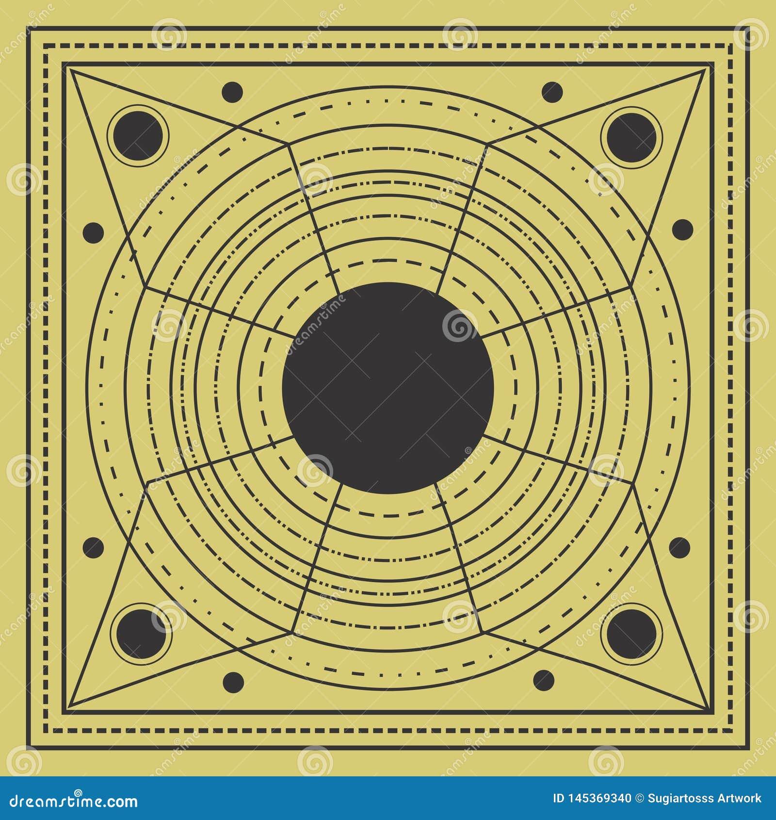 święty geometria projekt