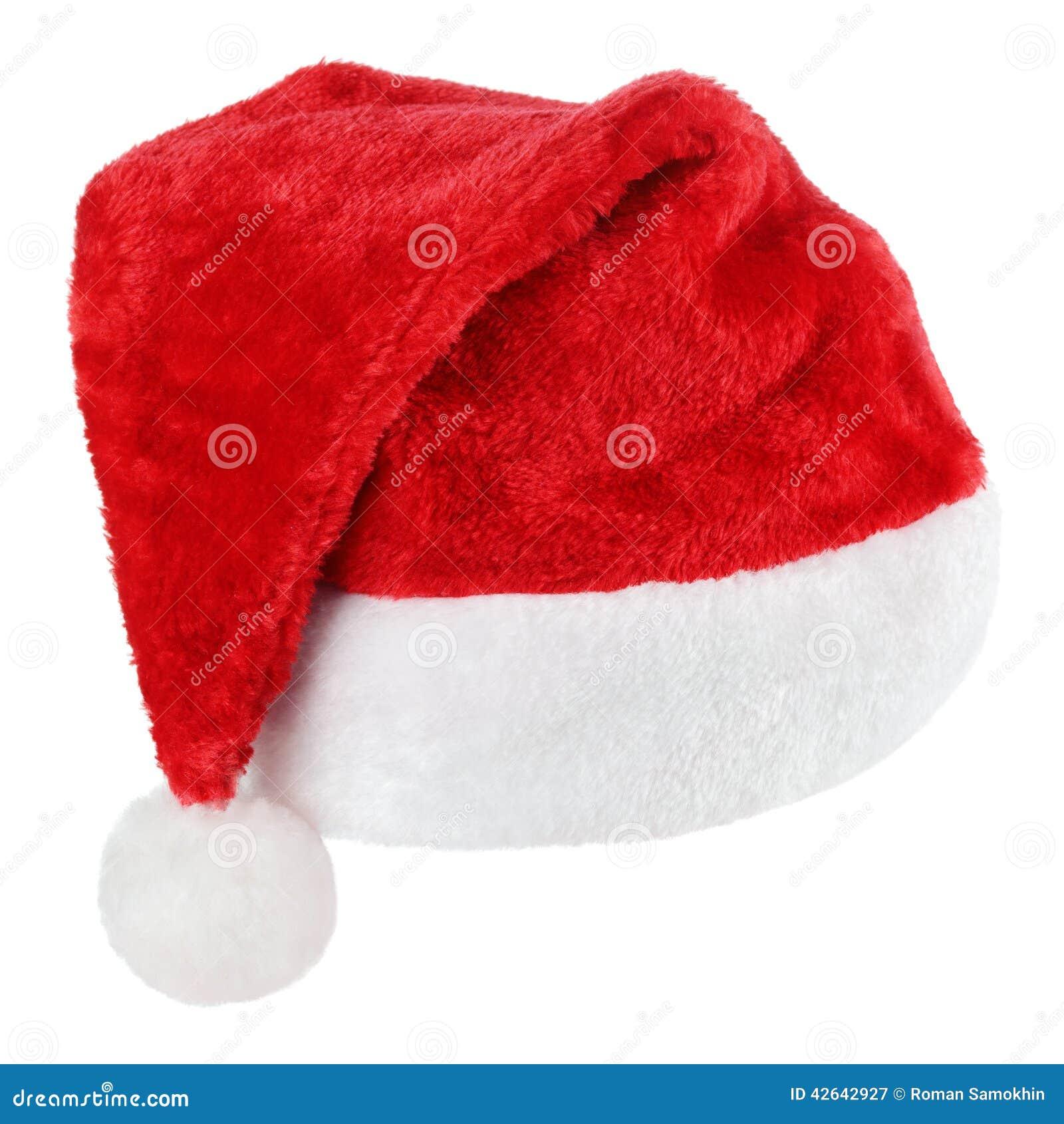 Święty Mikołaj czerwieni kapelusz