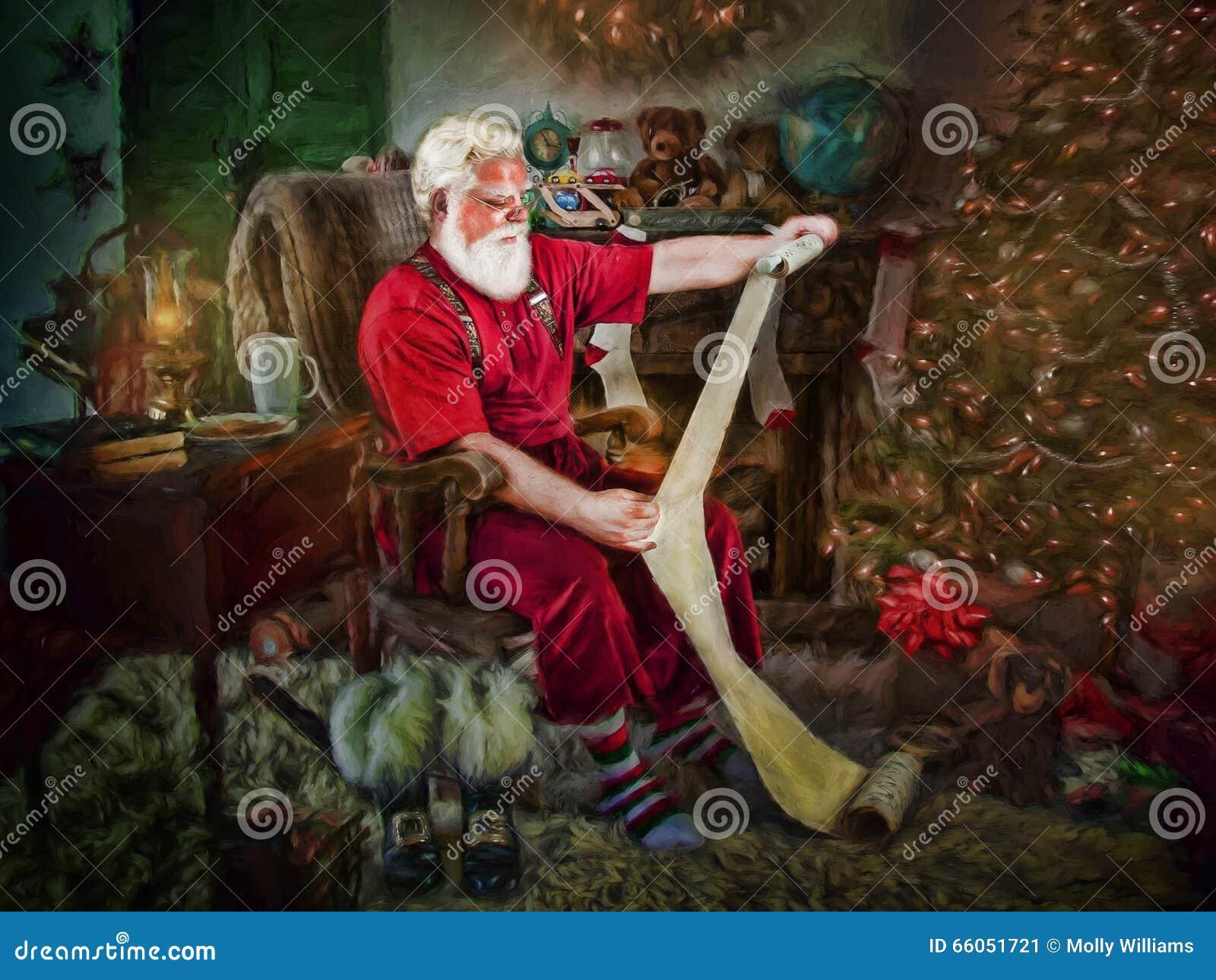 Święty Mikołaj Czytelnicza lista