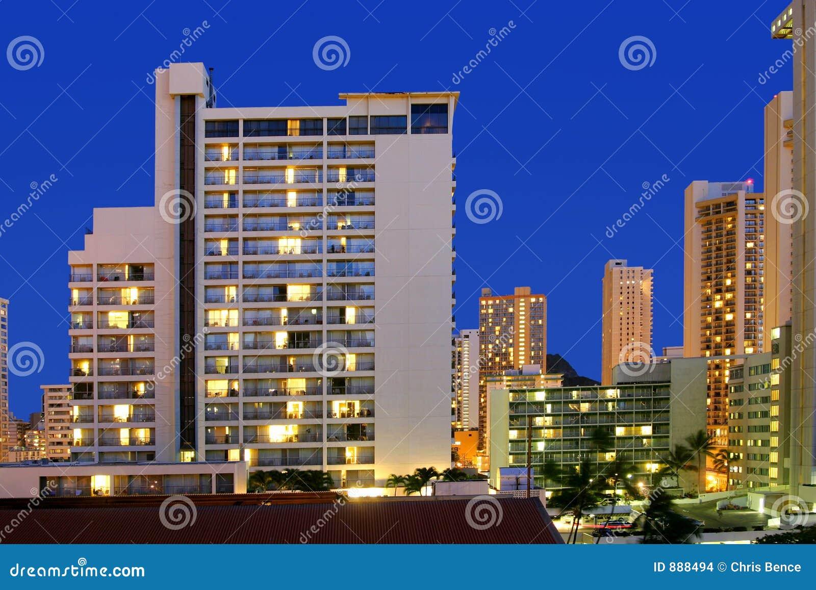 światła hotelowe