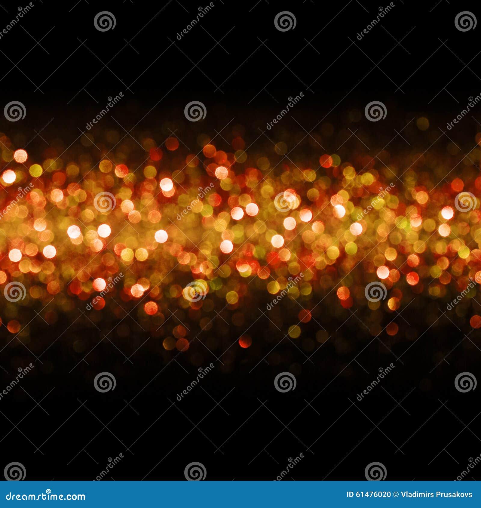 Światła tło, Abstrakcjonistyczny Bezszwowy plamy światło Bokeh, rewolucjonistka