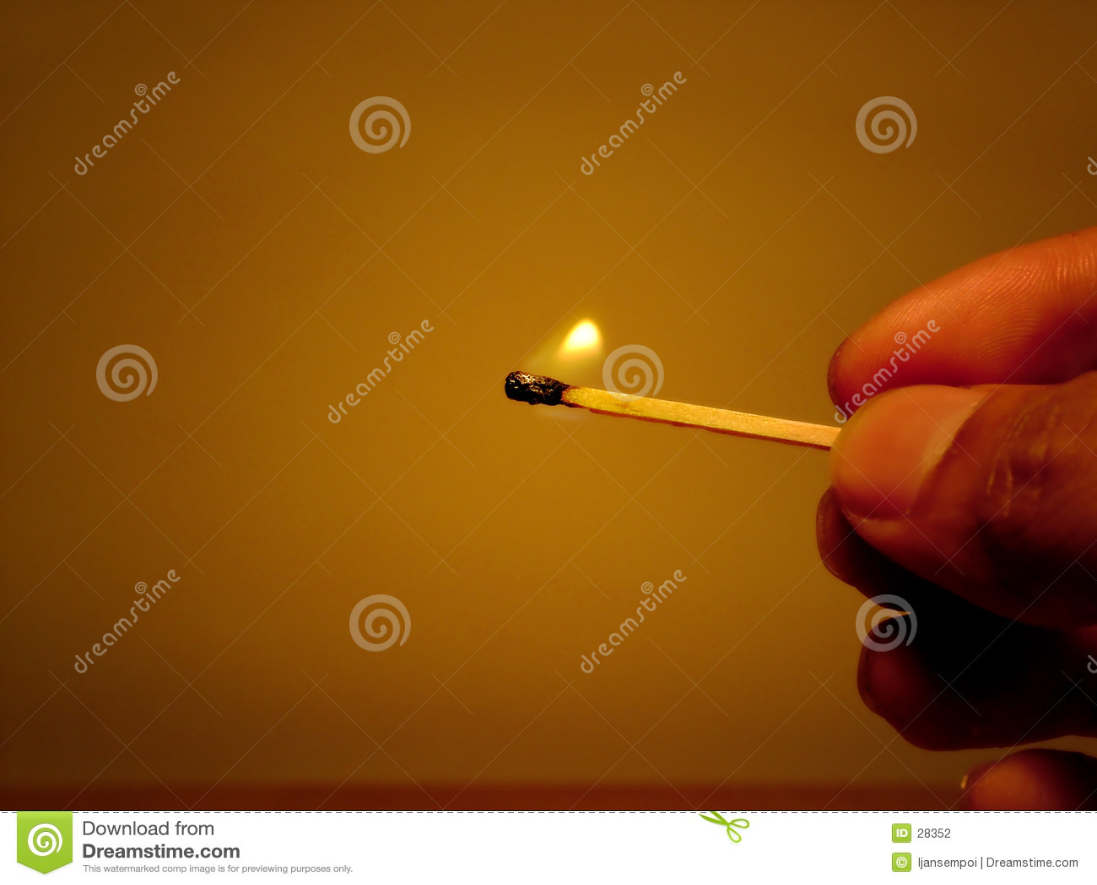 światło ognia