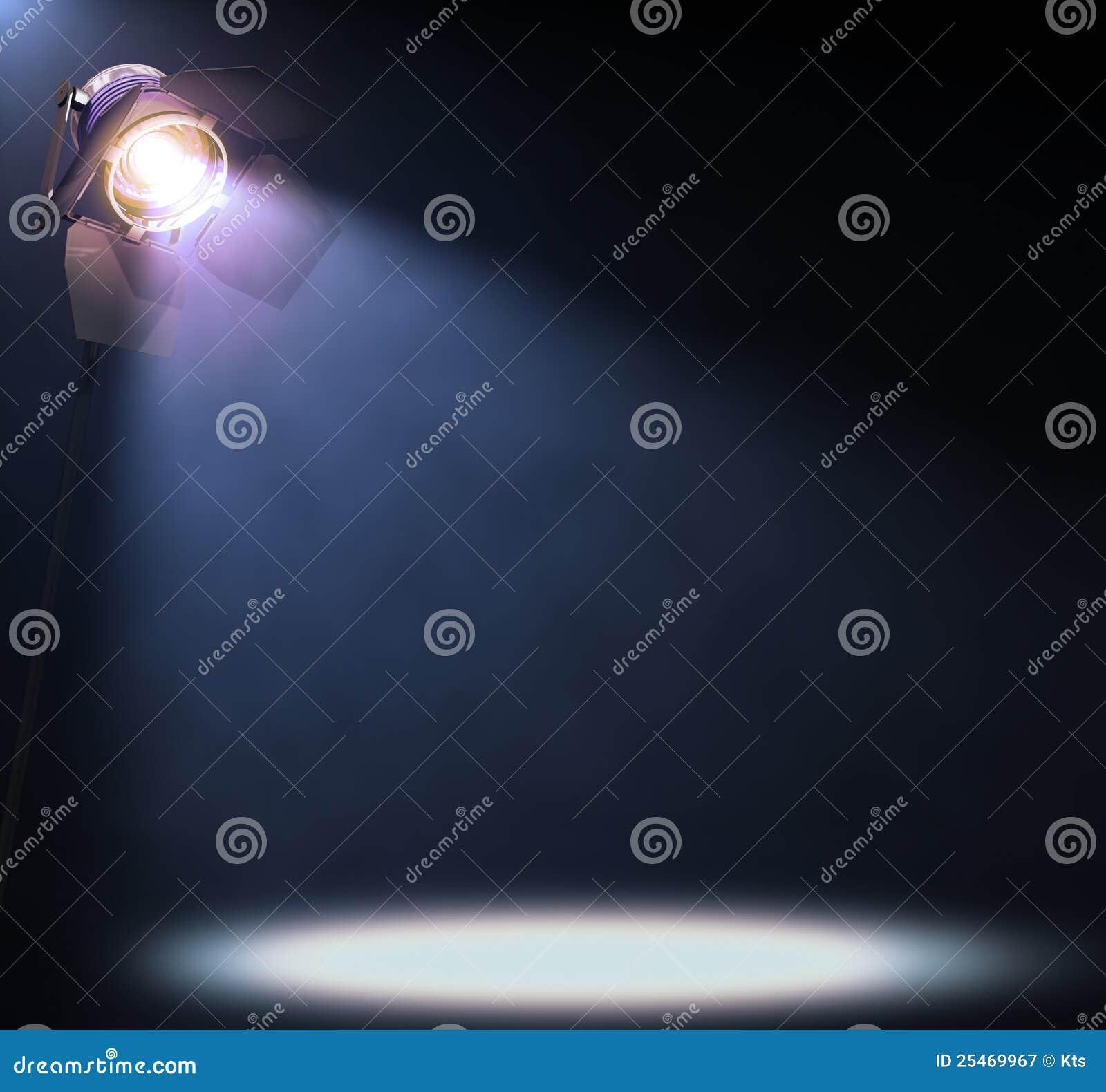 Światło reflektorów