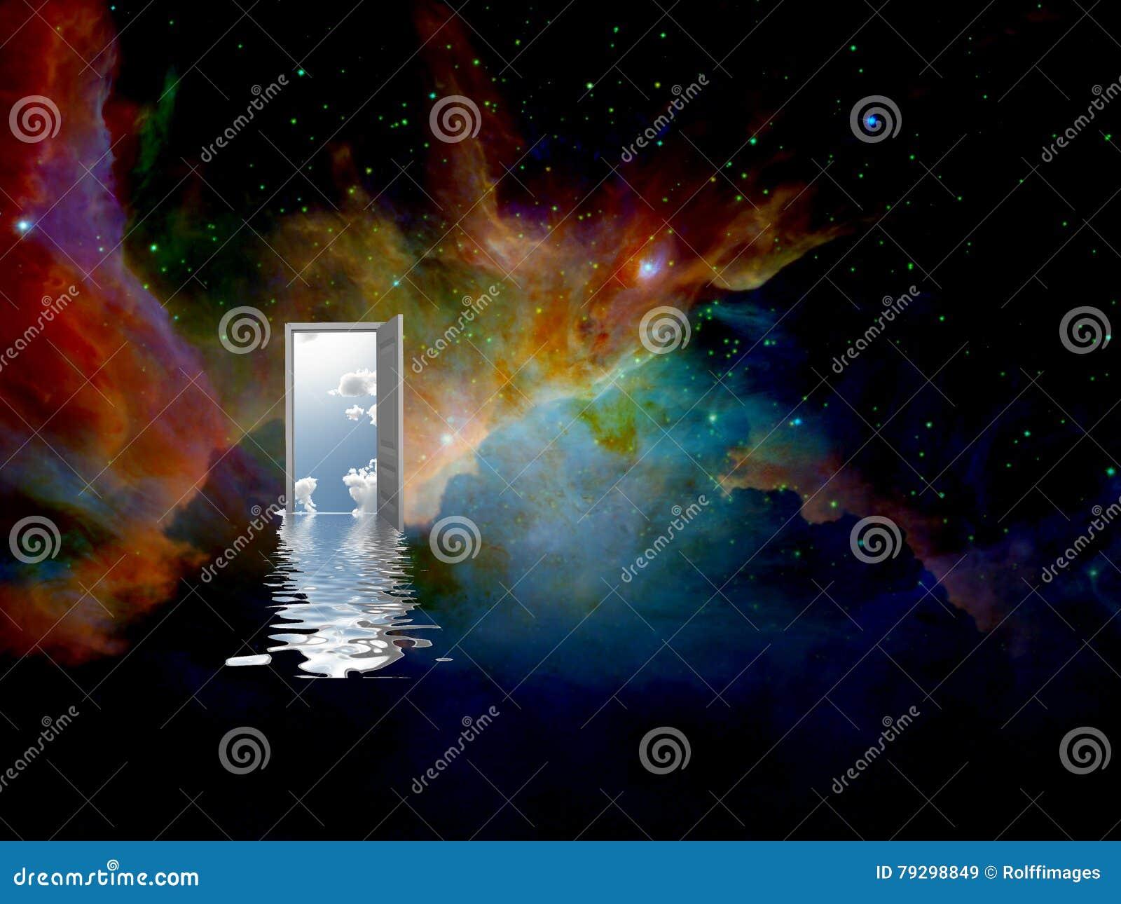 świat inny drzwi