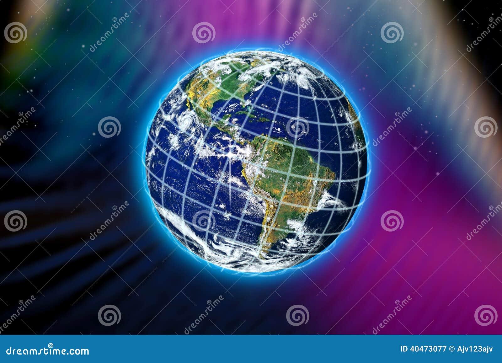 Światowa planety ziemia
