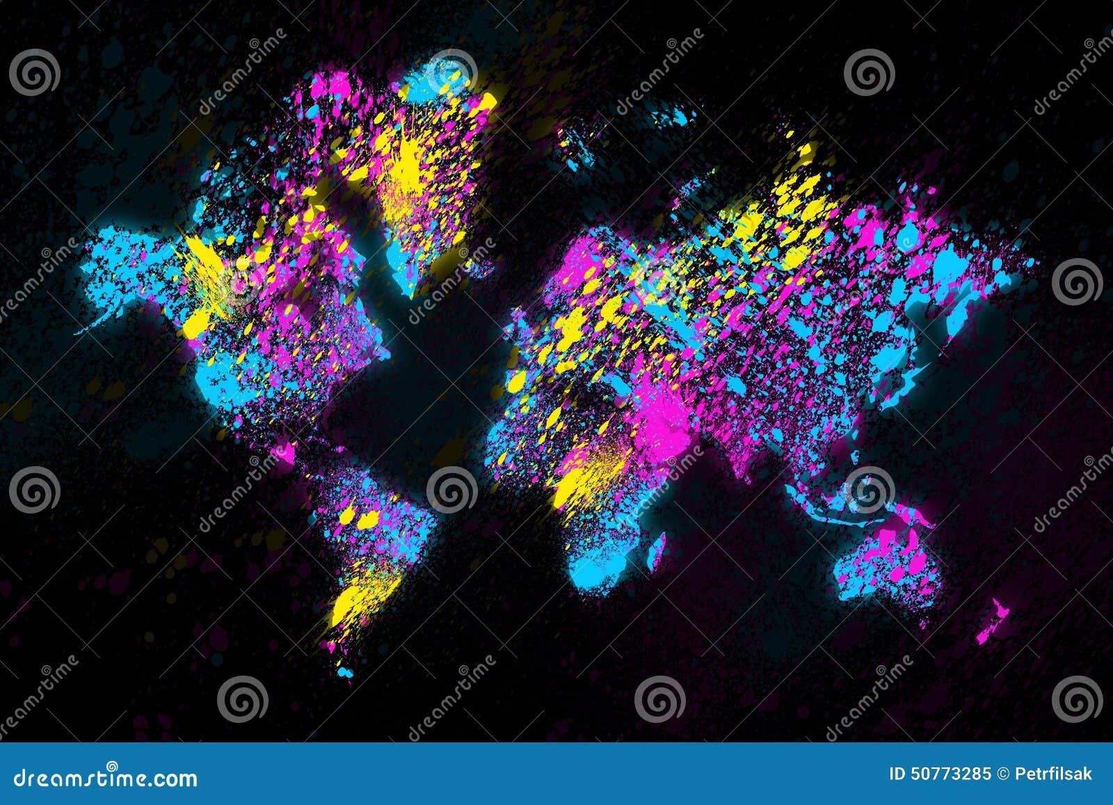 Światowej mapy obraz