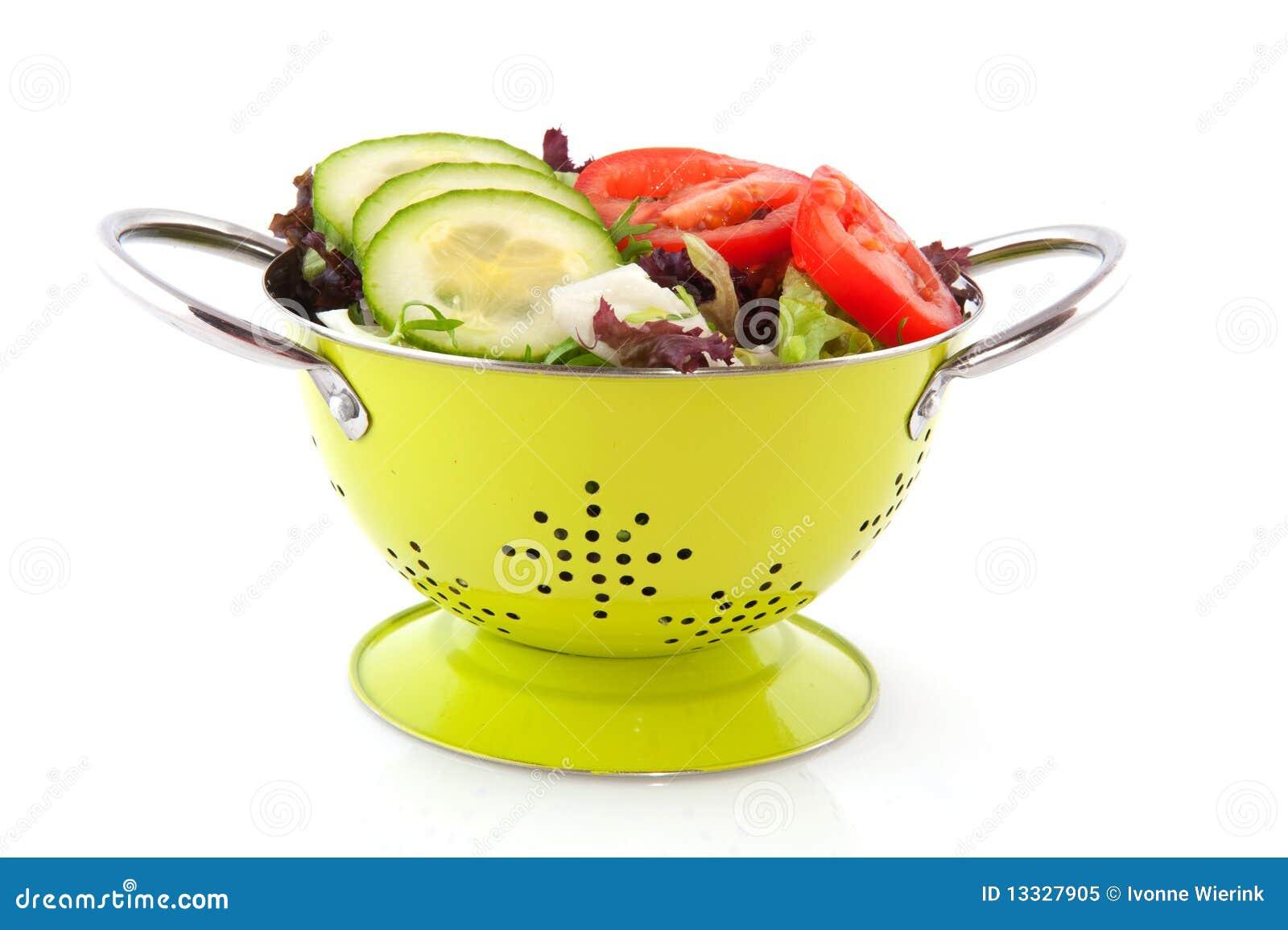 świeża colander sałatka
