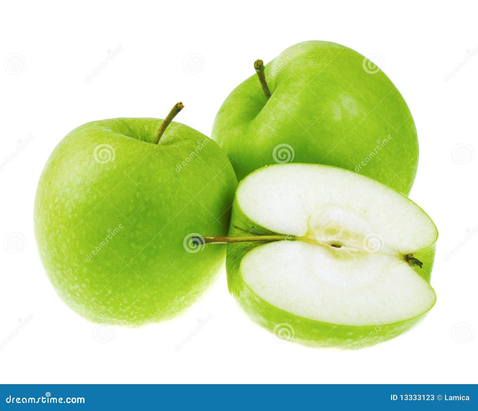świeża jabłko zieleń