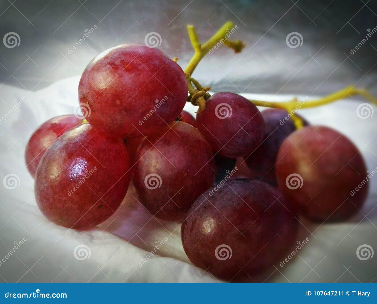 Świeże i zdrowe gronowe owoc