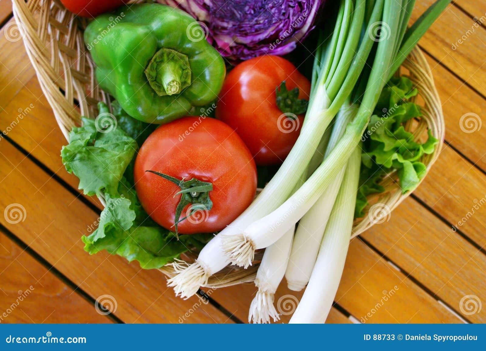 Download świeże warzywa obraz stock. Obraz złożonej z świeży, zdrowy - 88733