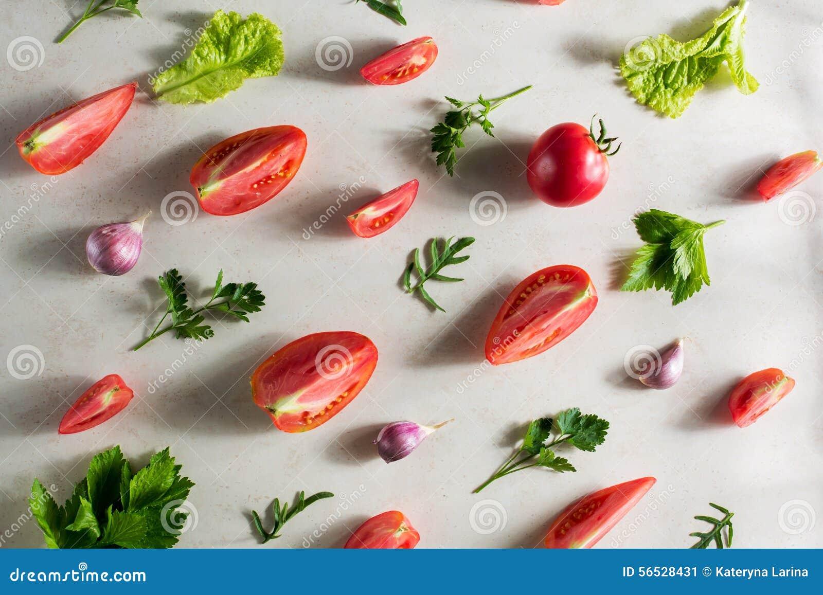 Świeżego warzywa wzór