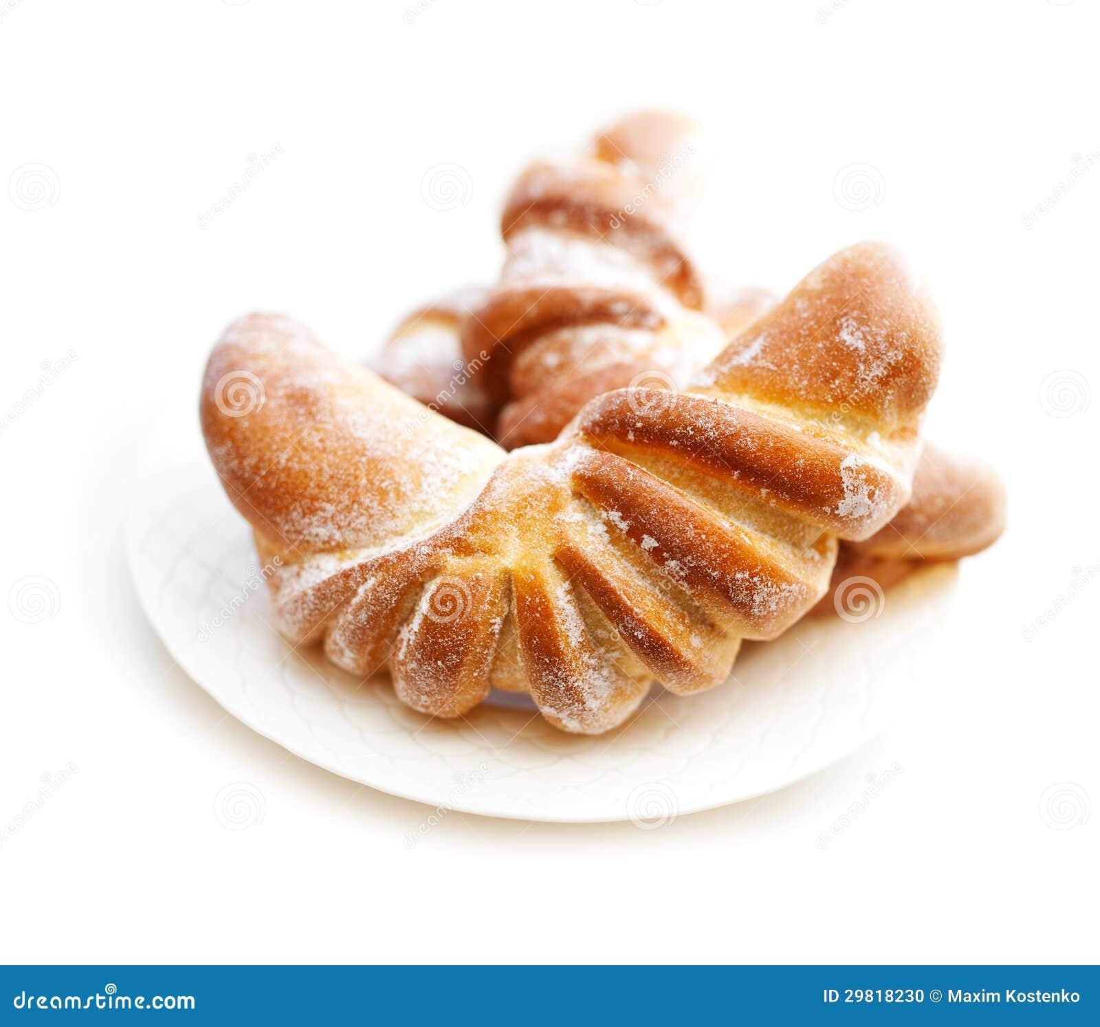 Świeży croissant