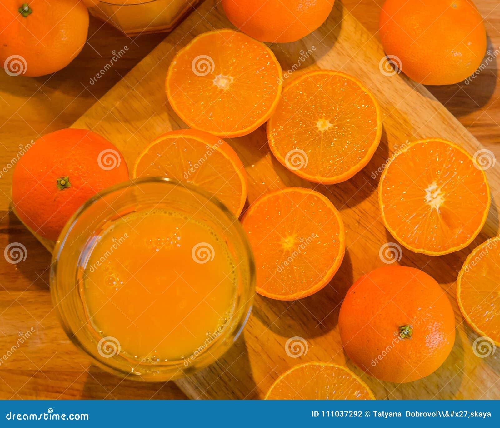Świeży mandarynka sok