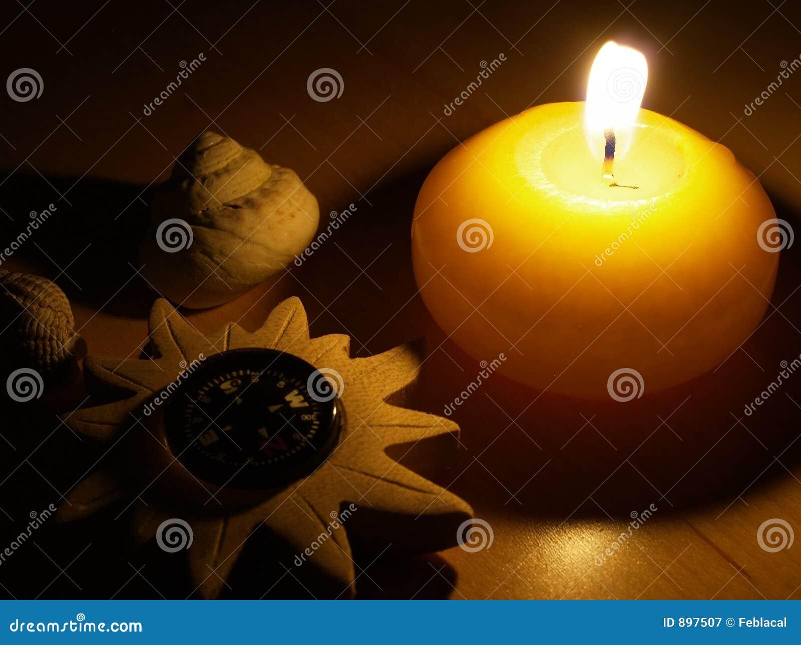 świeca ducha