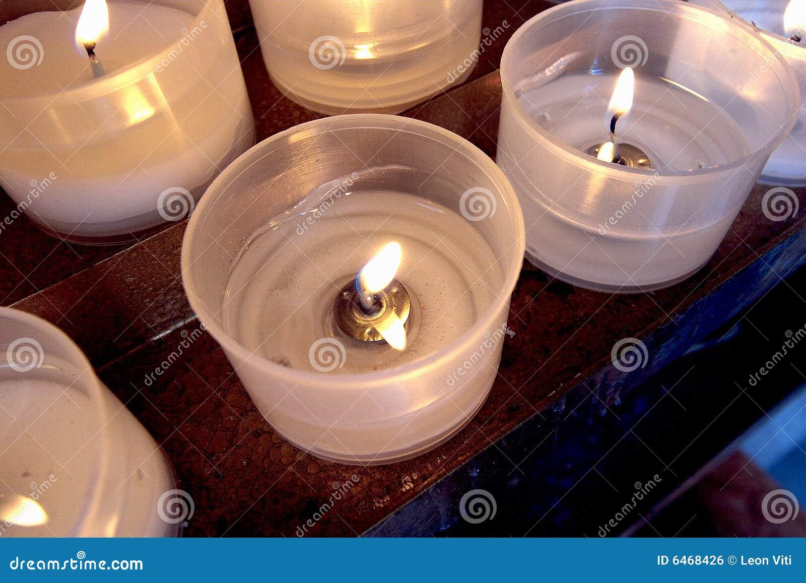 świeca kościoła