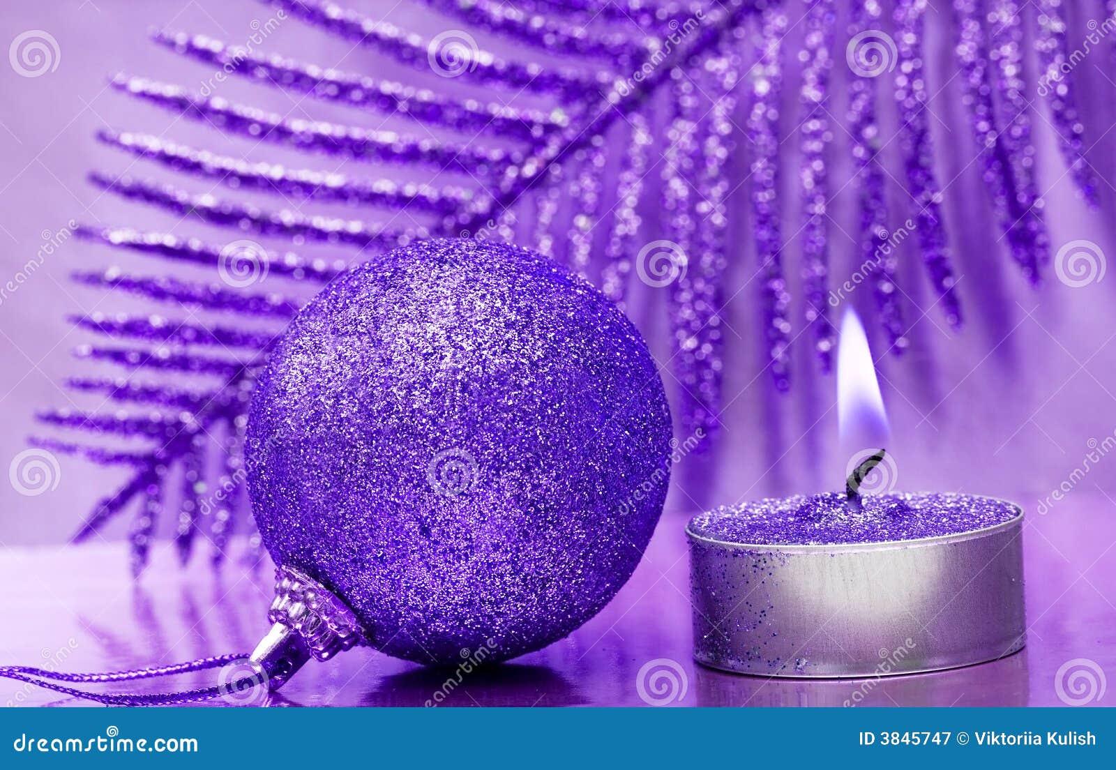 świeca uroczyście nowego roku