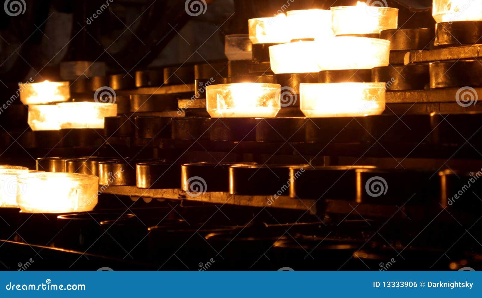 świeczek światła
